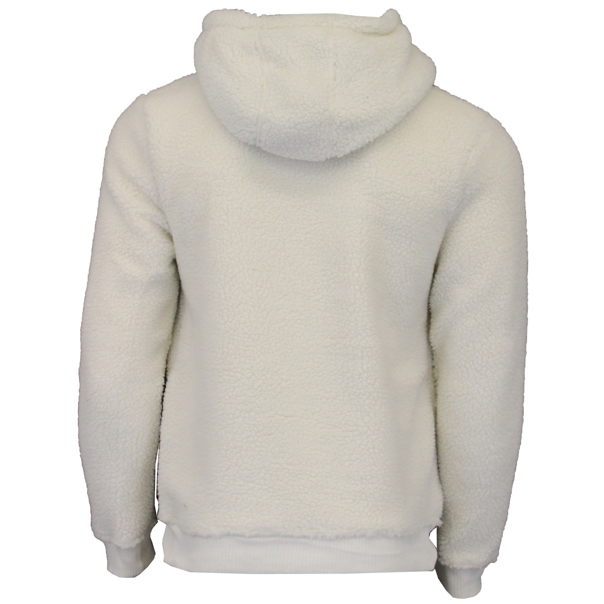 Mens-Sherpa-Fleece-Borg-Sweatshirt-Brave-Soul-Over-The-Head-GROMIT-Hooded-Top thumbnail 4