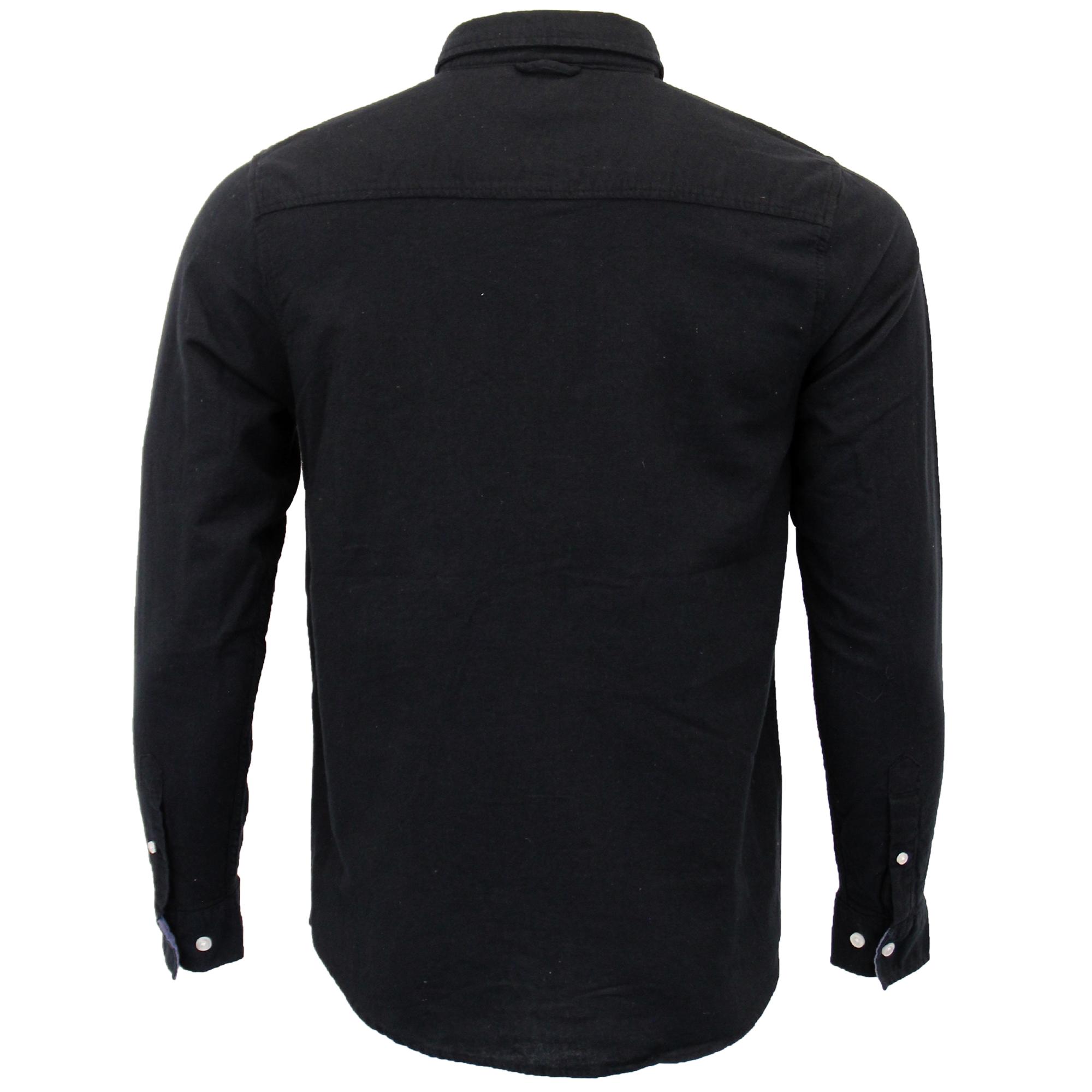 Mens-Brushed-Cotton-Shirt-Brave-Soul-Long-Sleeved-Flannel-HOLMES-Casual-Designer thumbnail 3