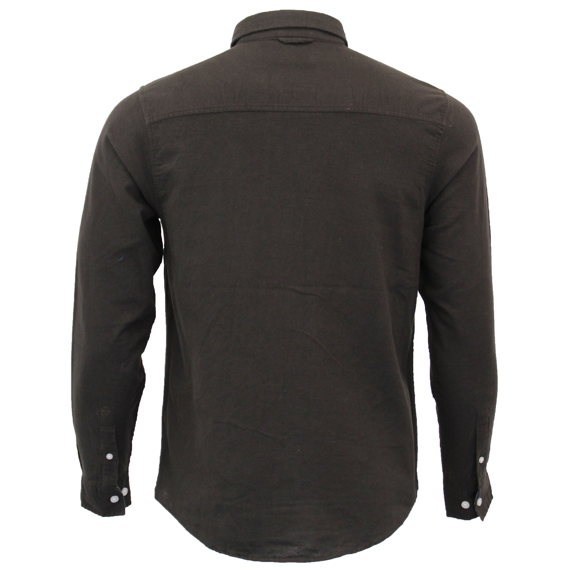 Mens-Brushed-Cotton-Shirt-Brave-Soul-Long-Sleeved-Flannel-HOLMES-Casual-Designer thumbnail 6