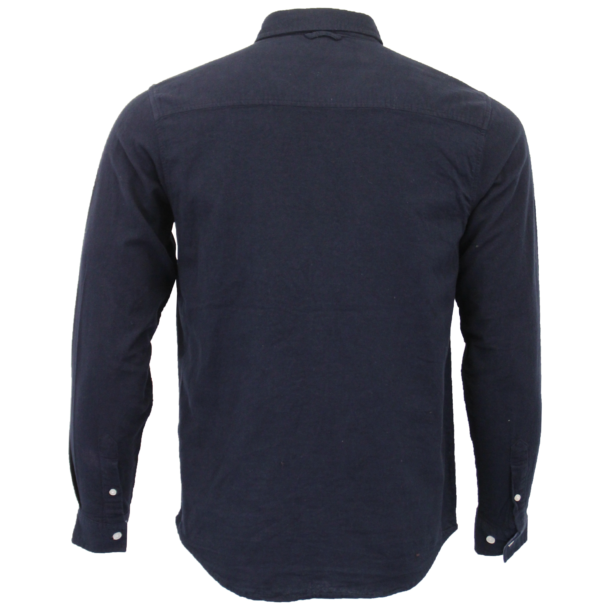 Mens-Brushed-Cotton-Shirt-Brave-Soul-Long-Sleeved-Flannel-HOLMES-Casual-Designer thumbnail 15