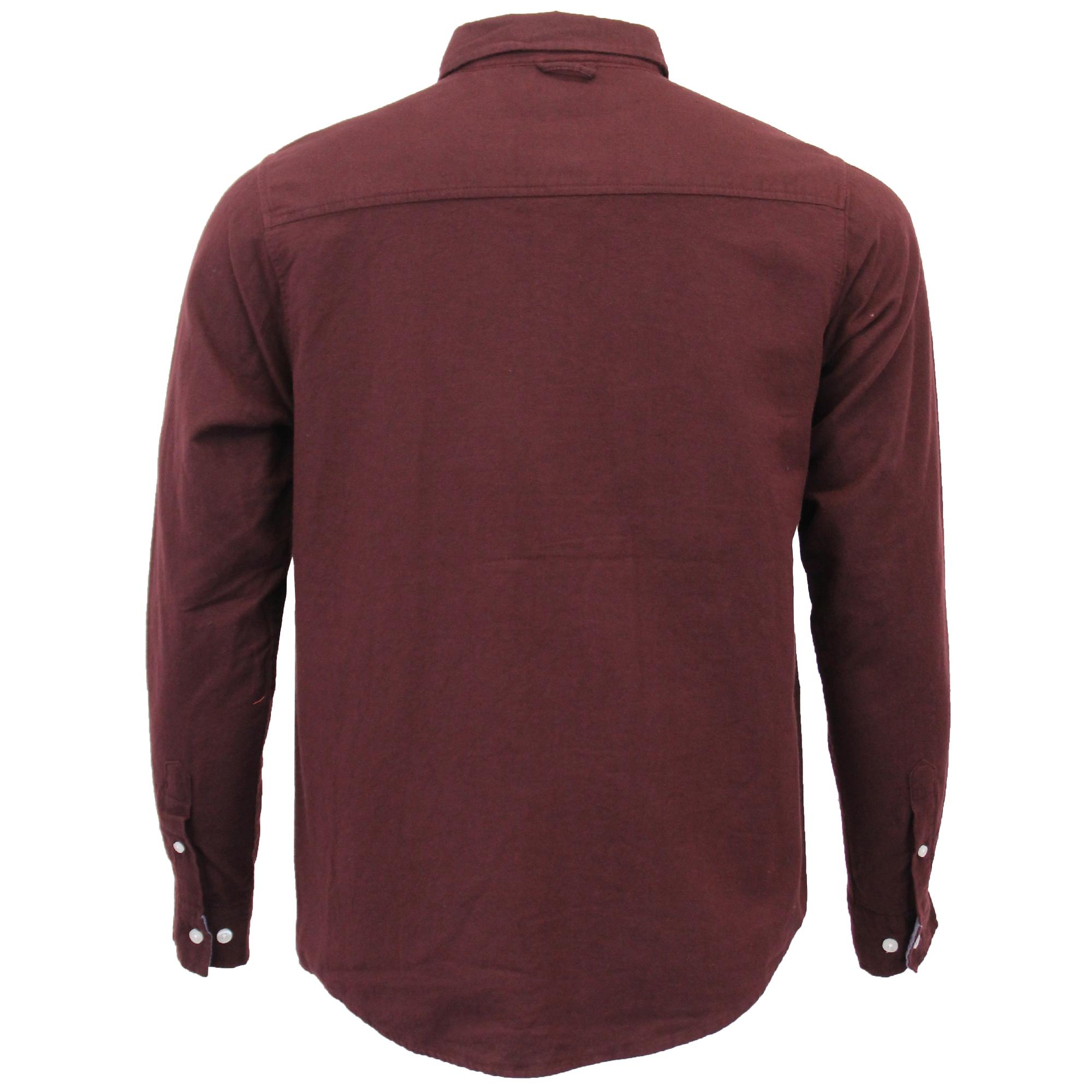 Mens-Brushed-Cotton-Shirt-Brave-Soul-Long-Sleeved-Flannel-HOLMES-Casual-Designer thumbnail 9