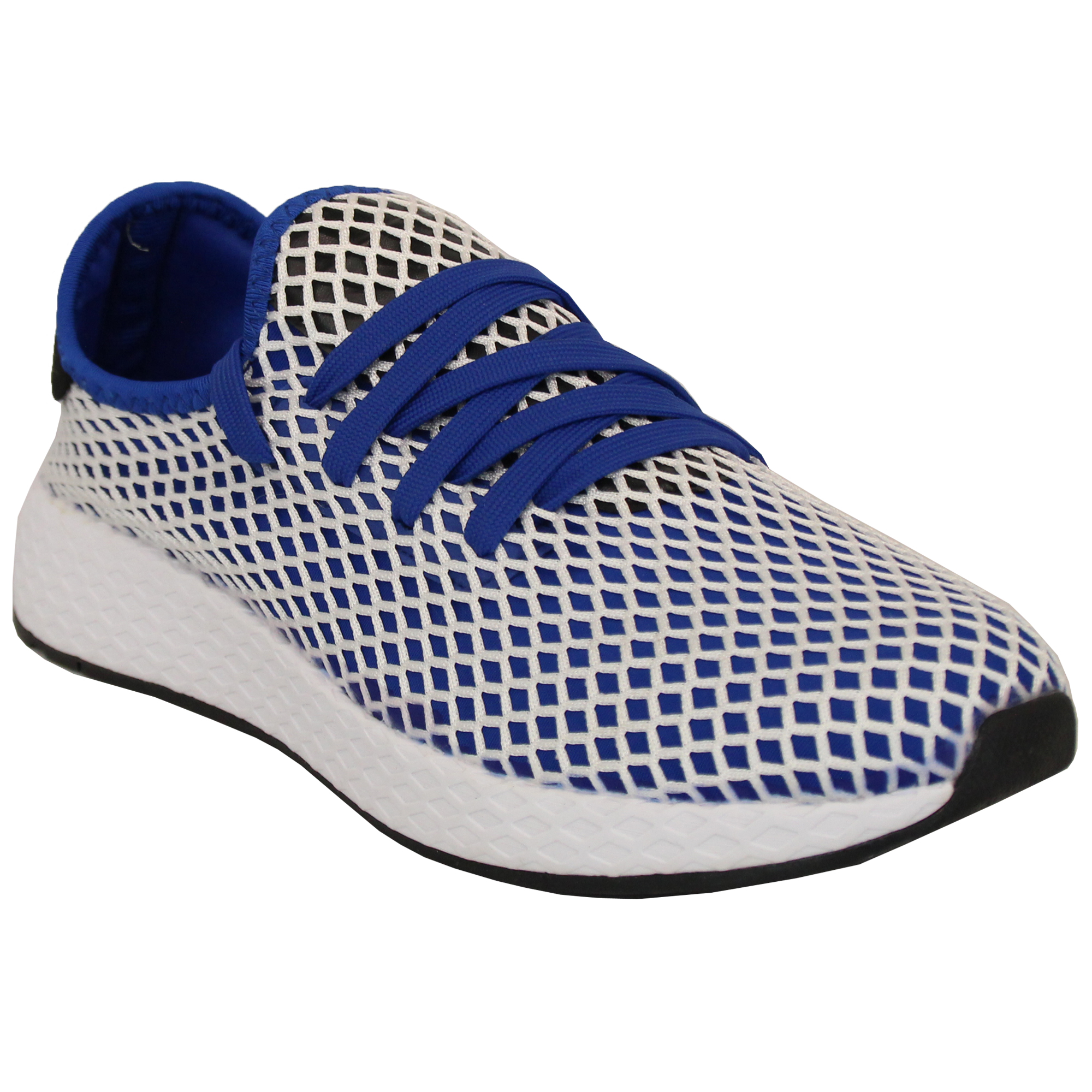 7022d561336a3a Mens Trainers Lace Up Active Running Jogging Walking Mesh Gym Shoes ...