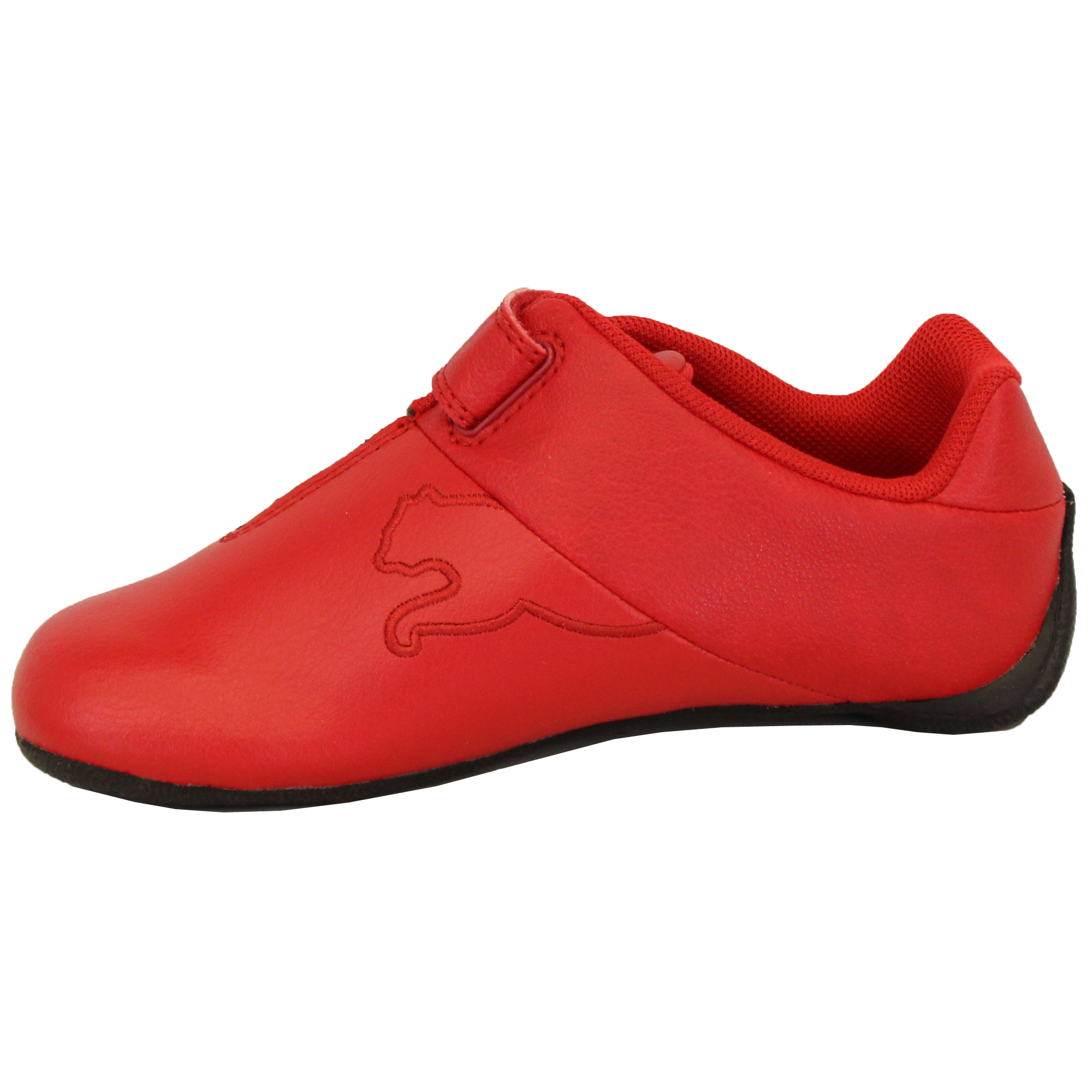 Boys-PUMA-Ferrari-Leather-Trainers-Kids-Evo-Power-Speed-Cat-Sports-Shoes-Casual thumbnail 7