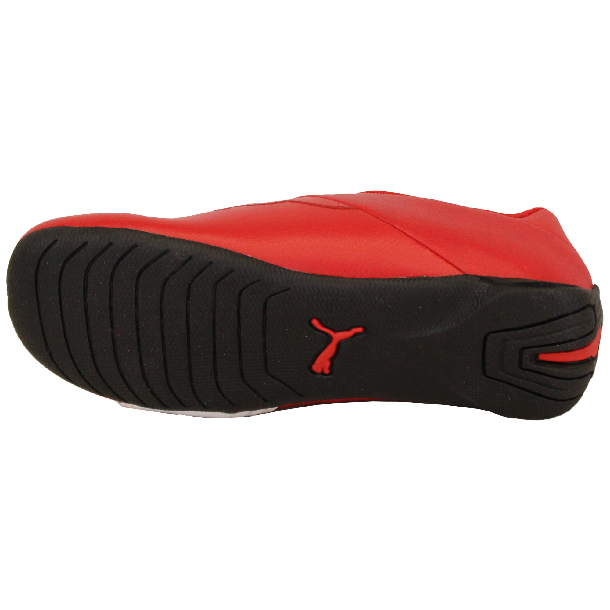 Boys-PUMA-Ferrari-Leather-Trainers-Kids-Evo-Power-Speed-Cat-Sports-Shoes-Casual thumbnail 8