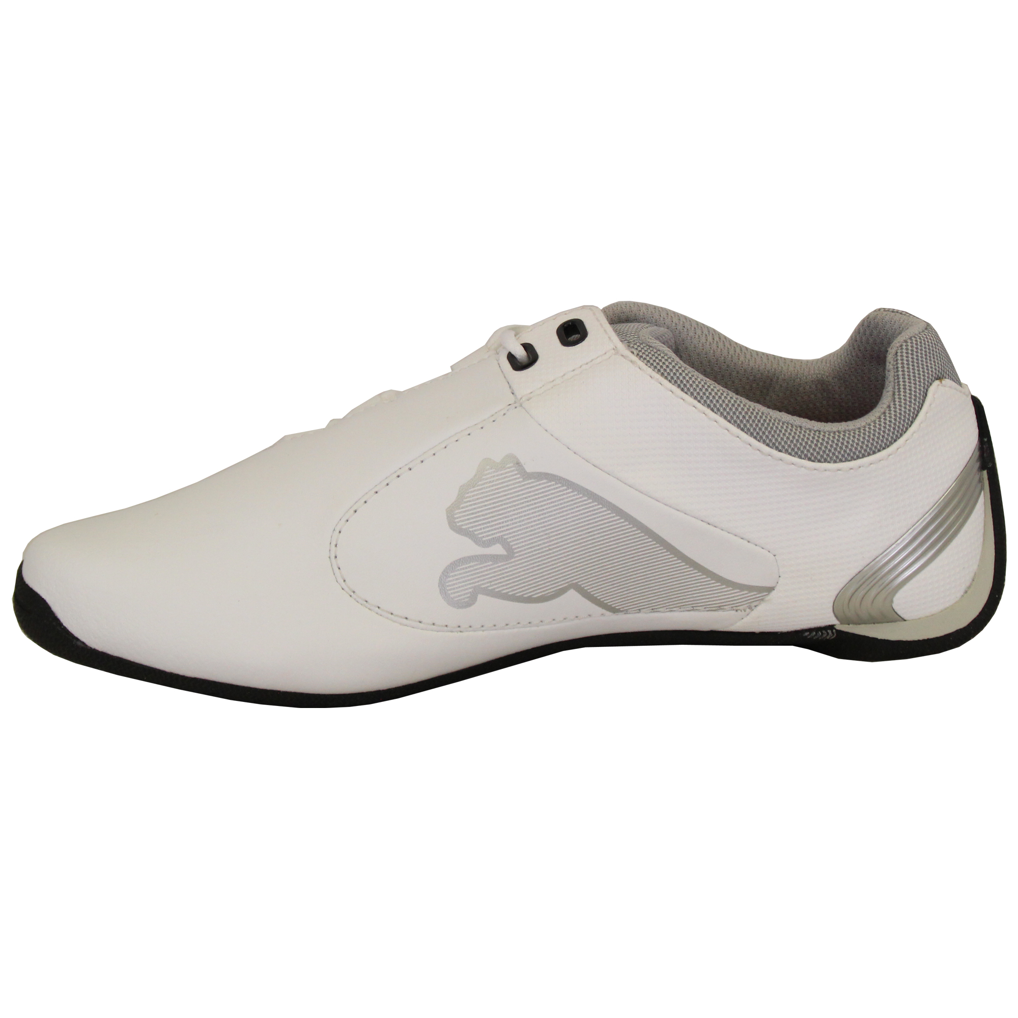 Boys-PUMA-Ferrari-Leather-Trainers-Kids-Evo-Power-Speed-Cat-Sports-Shoes-Casual thumbnail 11