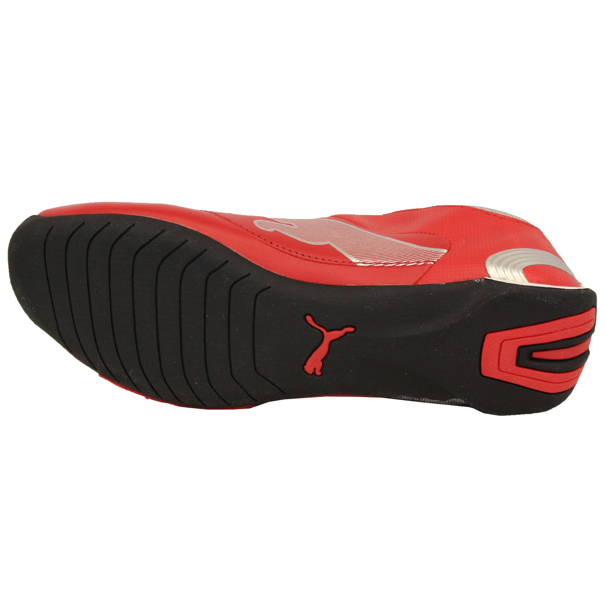 Boys-PUMA-Ferrari-Leather-Trainers-Kids-Evo-Power-Speed-Cat-Sports-Shoes-Casual thumbnail 4