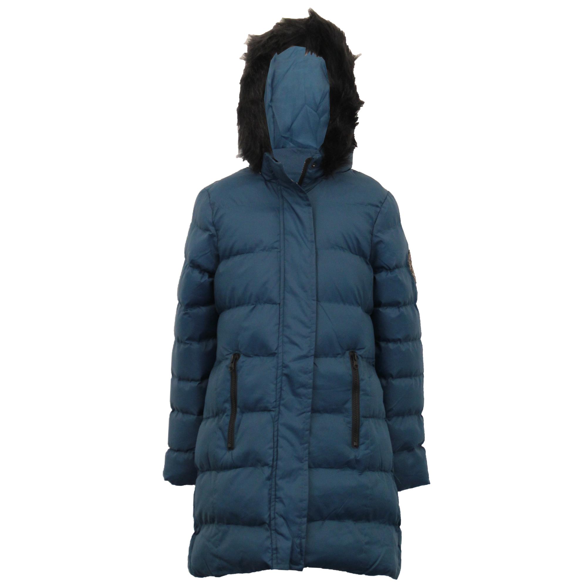 Le-ragazze-giacca-Lunga-Parka-BUBBLE-Brave-Soul-Bambini-Felpa-Con-Cappuccio-Cappotto-Imbottito miniatura 8