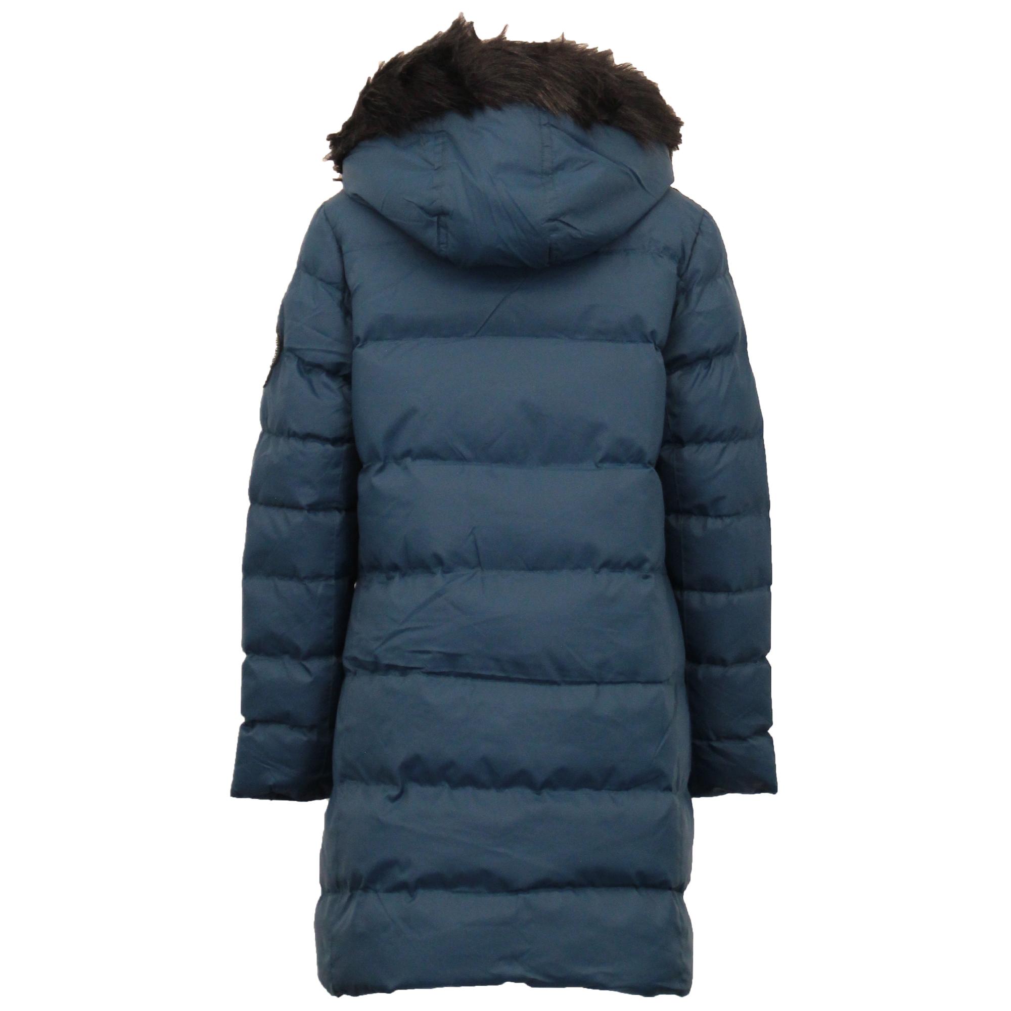Le-ragazze-giacca-Lunga-Parka-BUBBLE-Brave-Soul-Bambini-Felpa-Con-Cappuccio-Cappotto-Imbottito miniatura 10