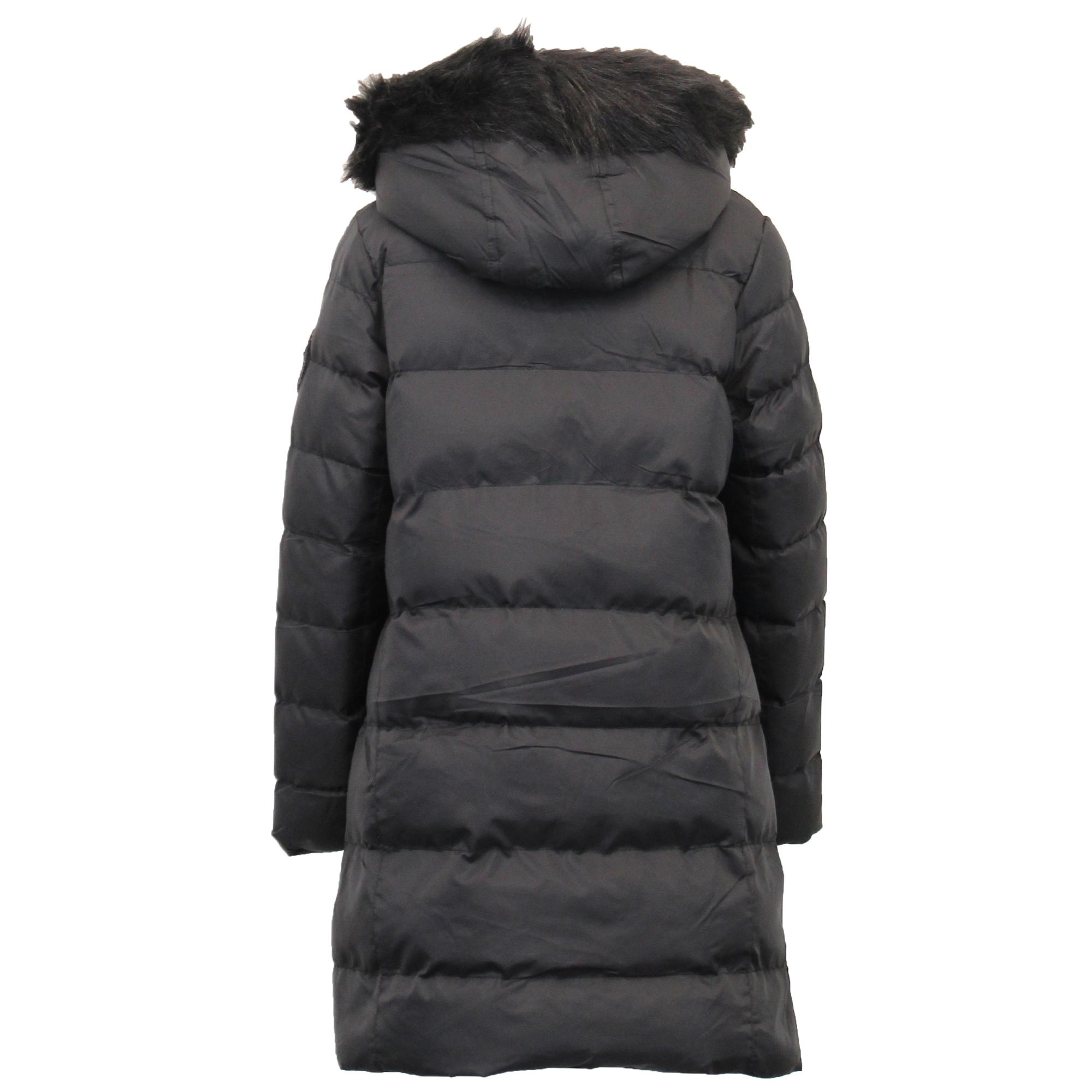 Le-ragazze-giacca-Lunga-Parka-BUBBLE-Brave-Soul-Bambini-Felpa-Con-Cappuccio-Cappotto-Imbottito miniatura 5
