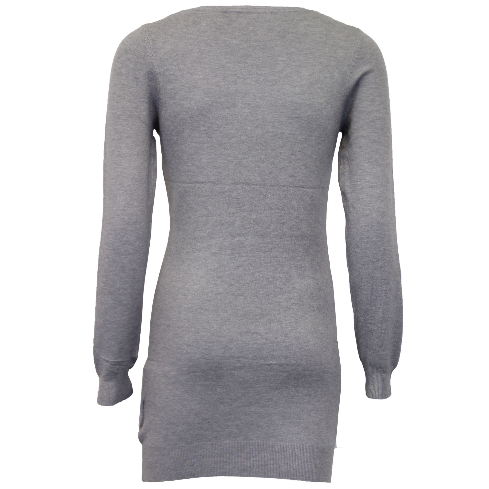 Damen-Xmas-Lang-Pullover-Damen-Kleid-Weihnachten-Glitzernde-Pailletten-Neuheit-Party-NEU Indexbild 6