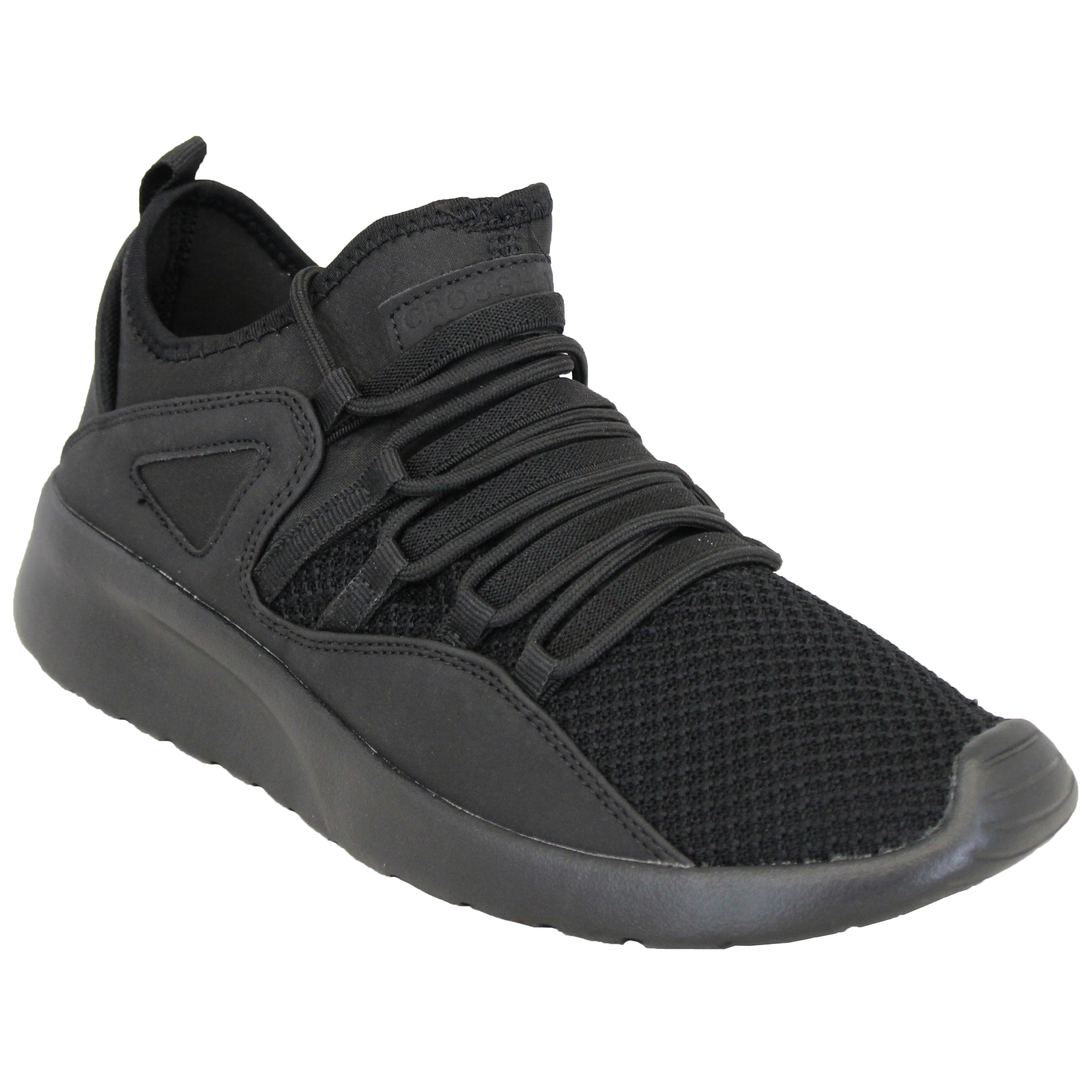Mens-Trainers-Crosshatch-Running-Speed-Lace-Up-Sneakers-Sports-Gym-Casual-Shoes thumbnail 2