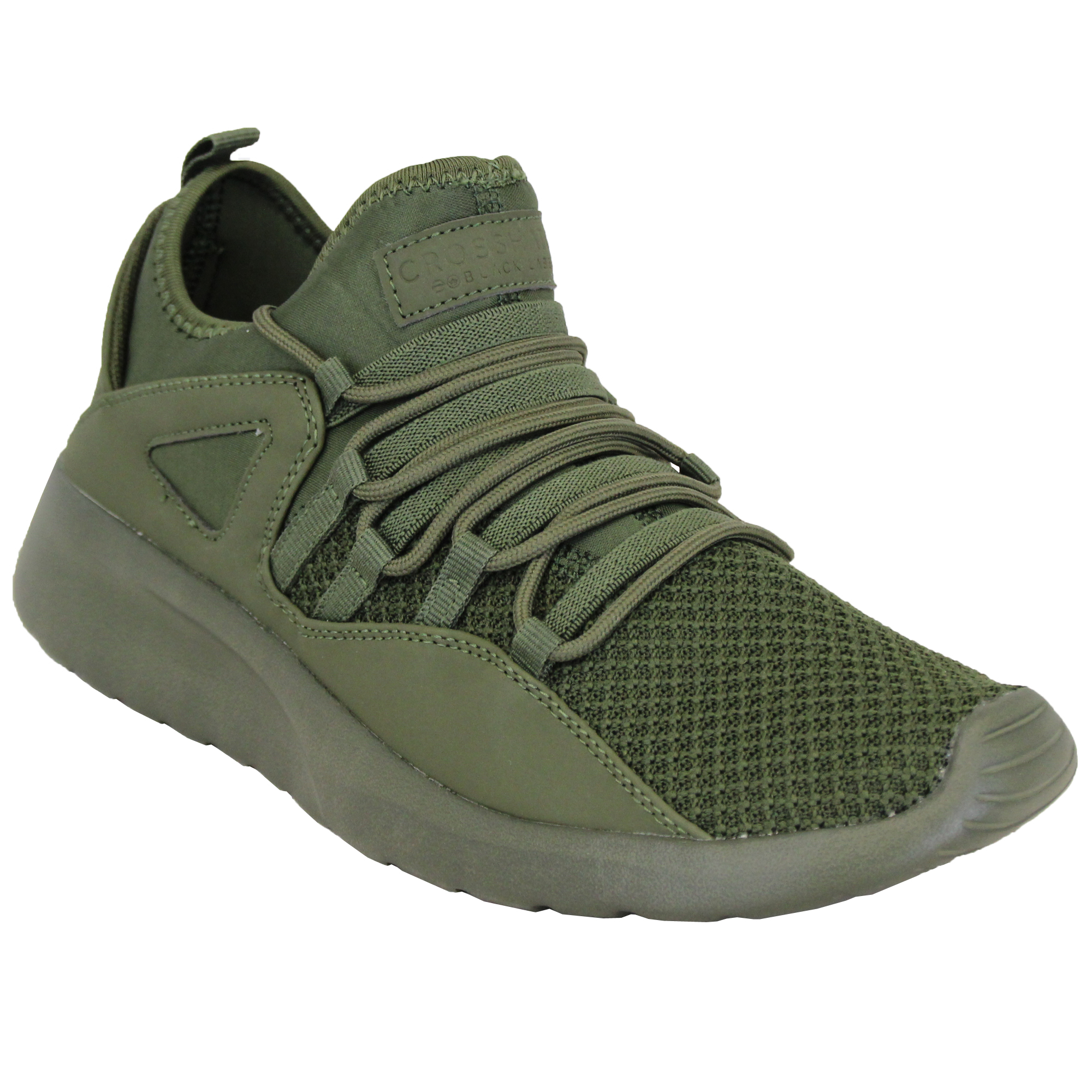 Mens-Trainers-Crosshatch-Running-Speed-Lace-Up-Sneakers-Sports-Gym-Casual-Shoes thumbnail 6