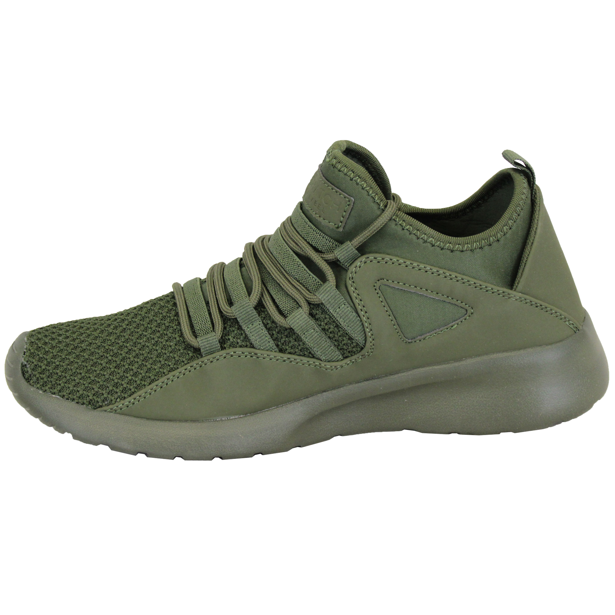 Mens-Trainers-Crosshatch-Running-Speed-Lace-Up-Sneakers-Sports-Gym-Casual-Shoes thumbnail 7