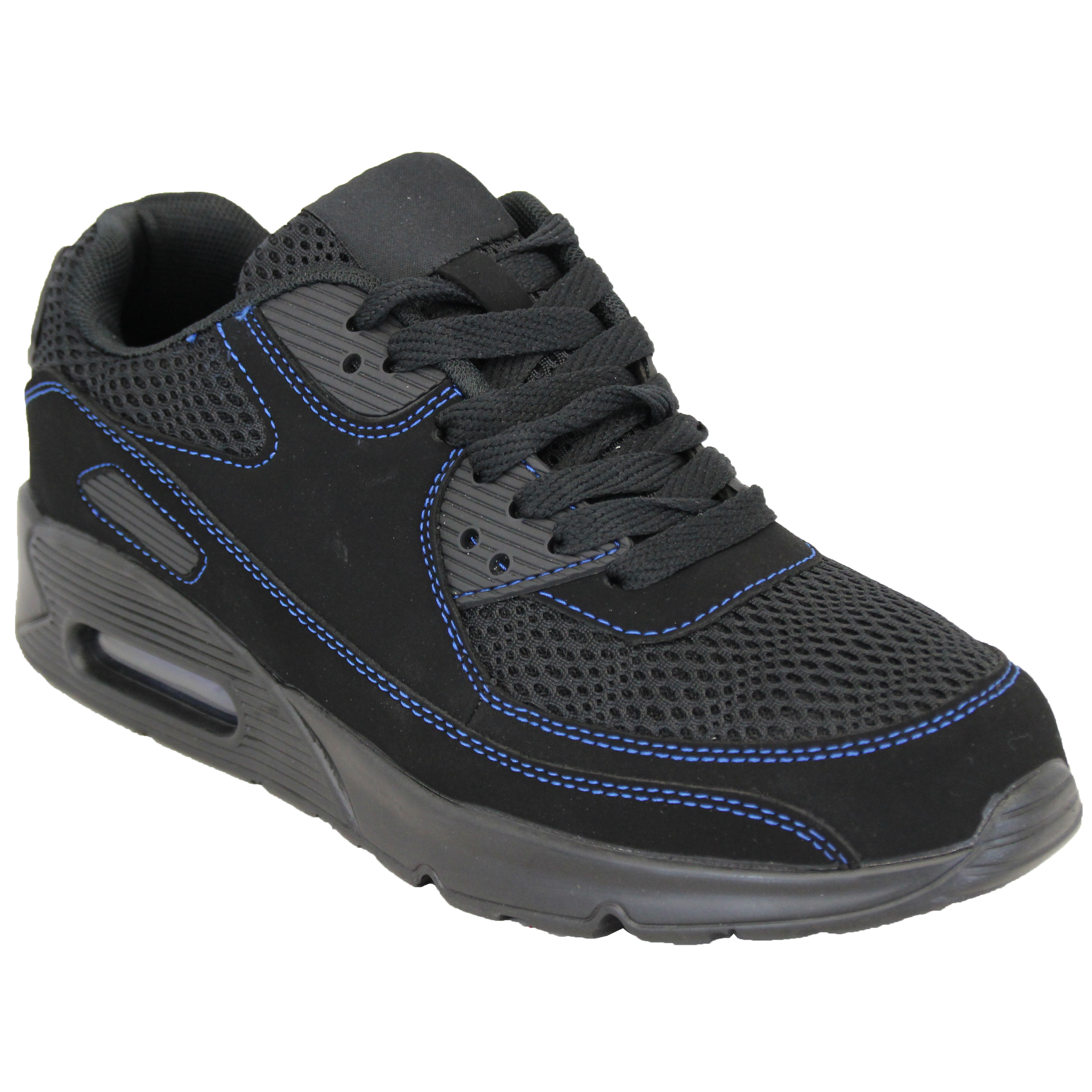 Mens-Bubble-Trainers-Lace-Up-Running-Shoes-Mesh-Jogging-Sports-Gym-Casual-New thumbnail 6