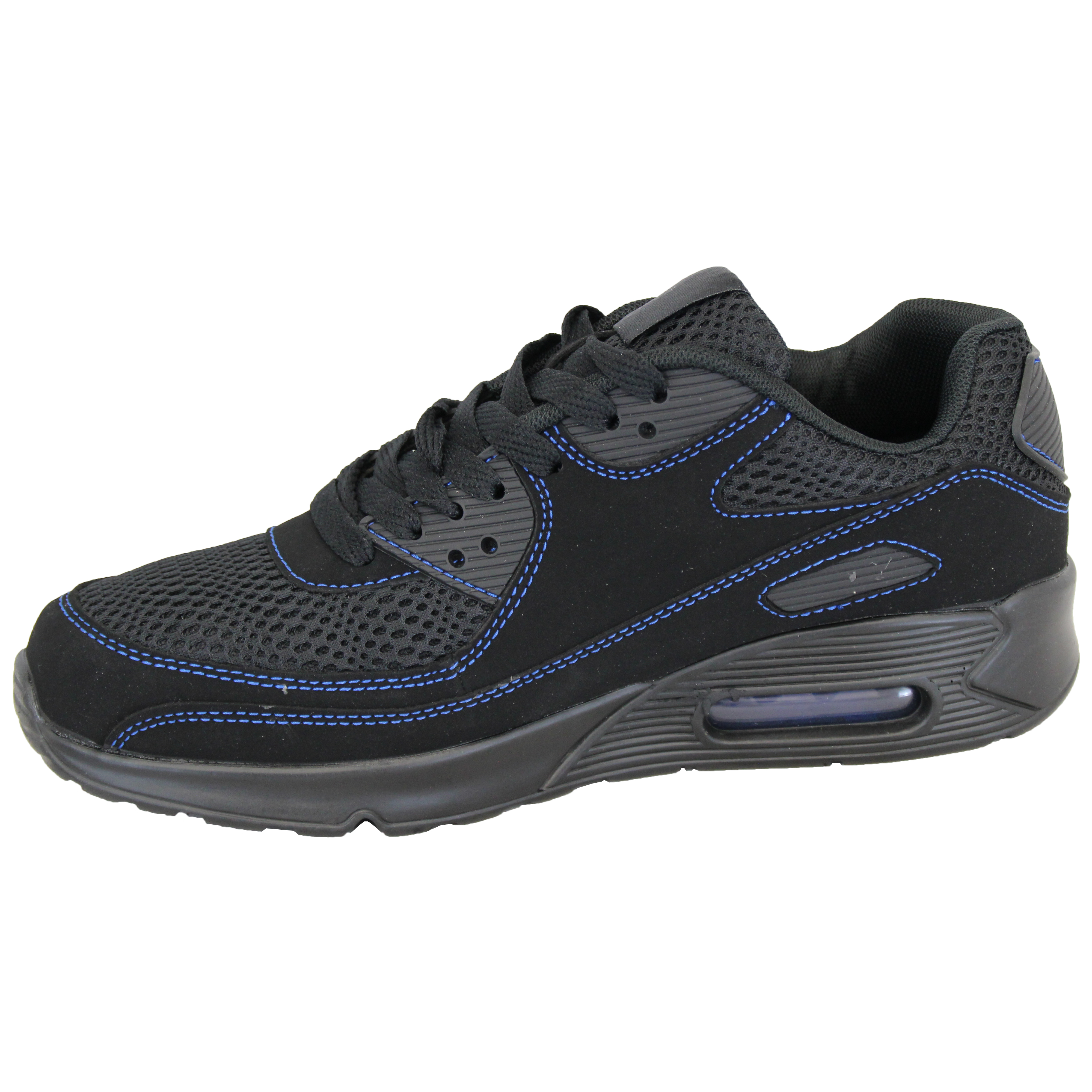 Mens-Bubble-Trainers-Lace-Up-Running-Shoes-Mesh-Jogging-Sports-Gym-Casual-New thumbnail 7