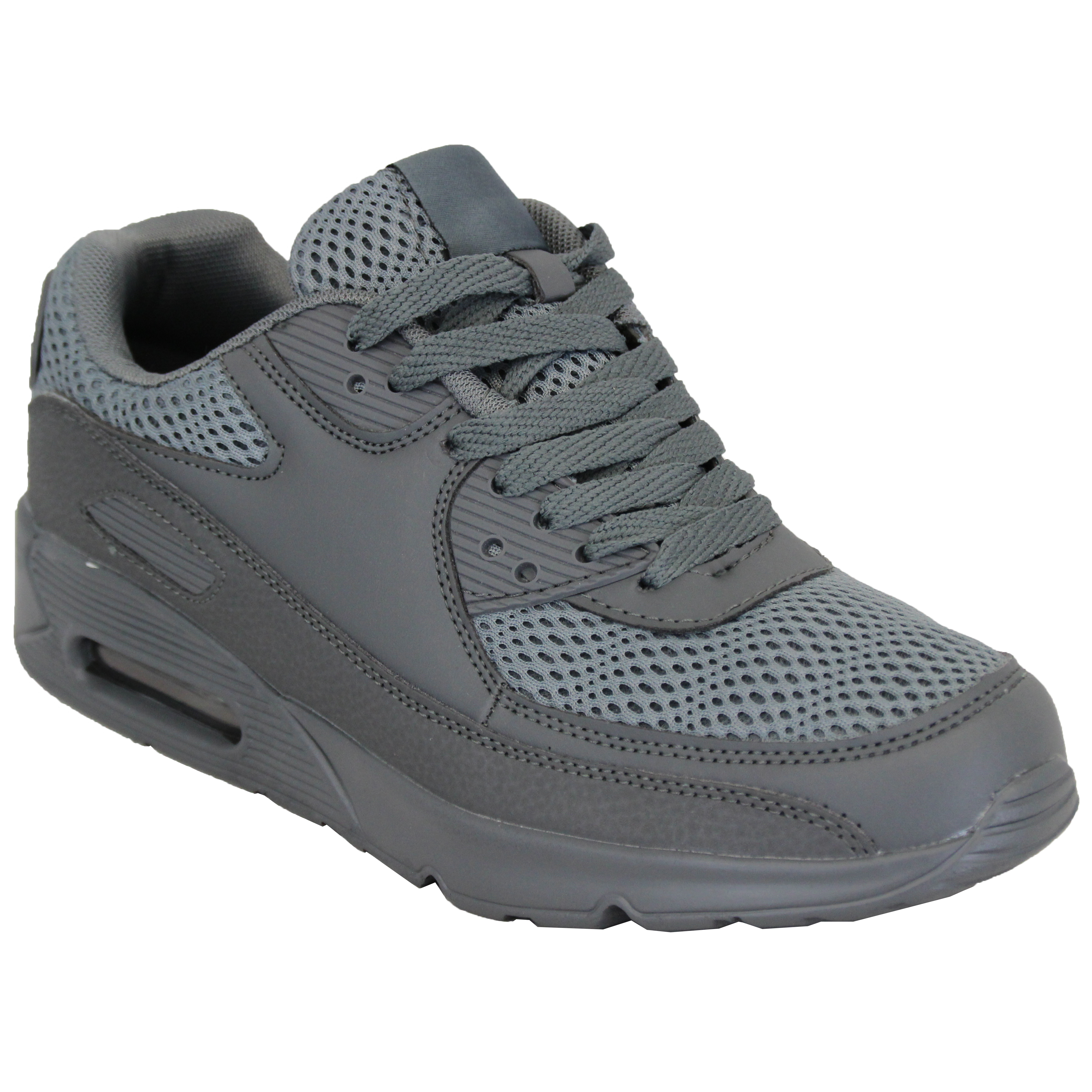 Mens-Bubble-Trainers-Lace-Up-Running-Shoes-Mesh-Jogging-Sports-Gym-Casual-New thumbnail 10
