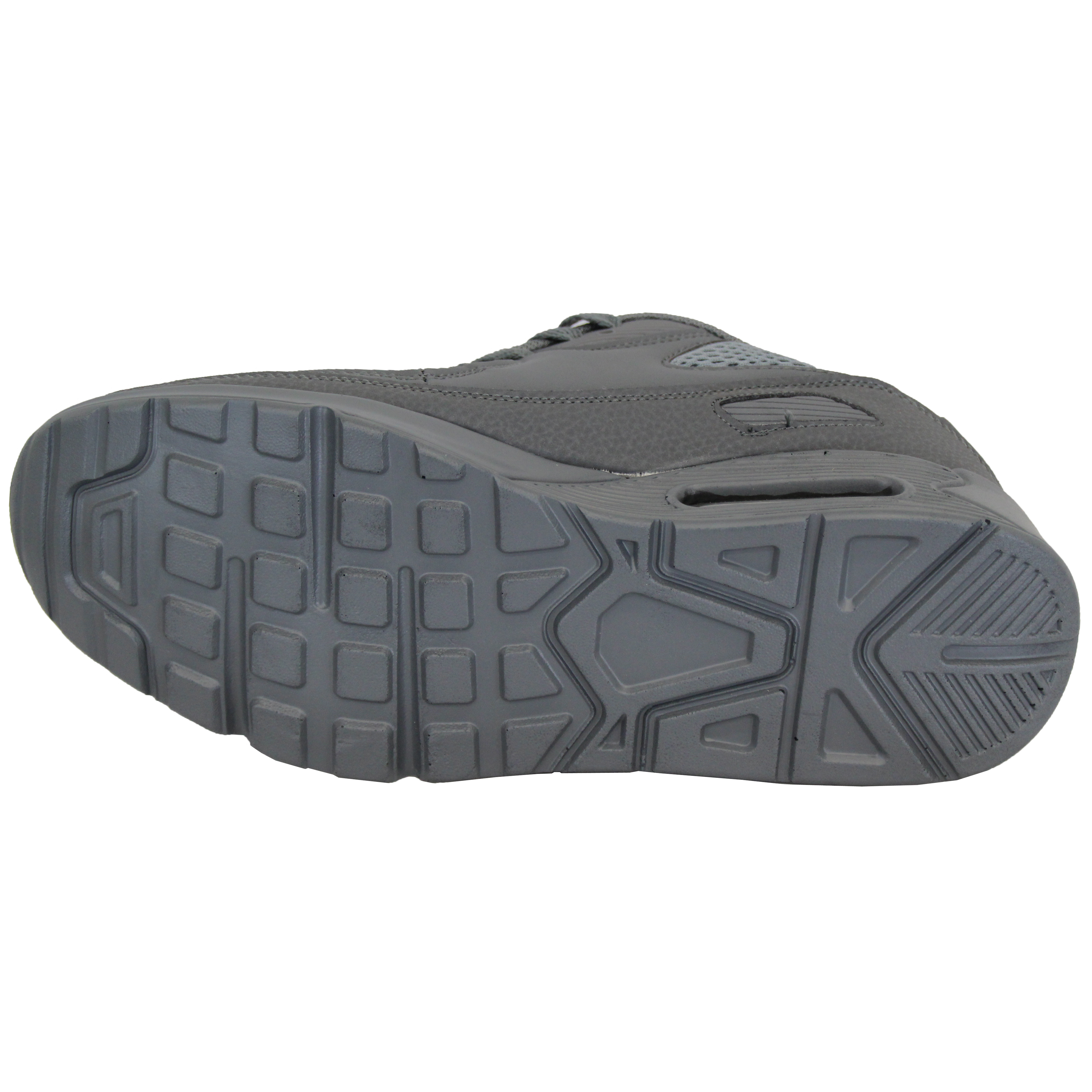 Mens-Bubble-Trainers-Lace-Up-Running-Shoes-Mesh-Jogging-Sports-Gym-Casual-New thumbnail 12