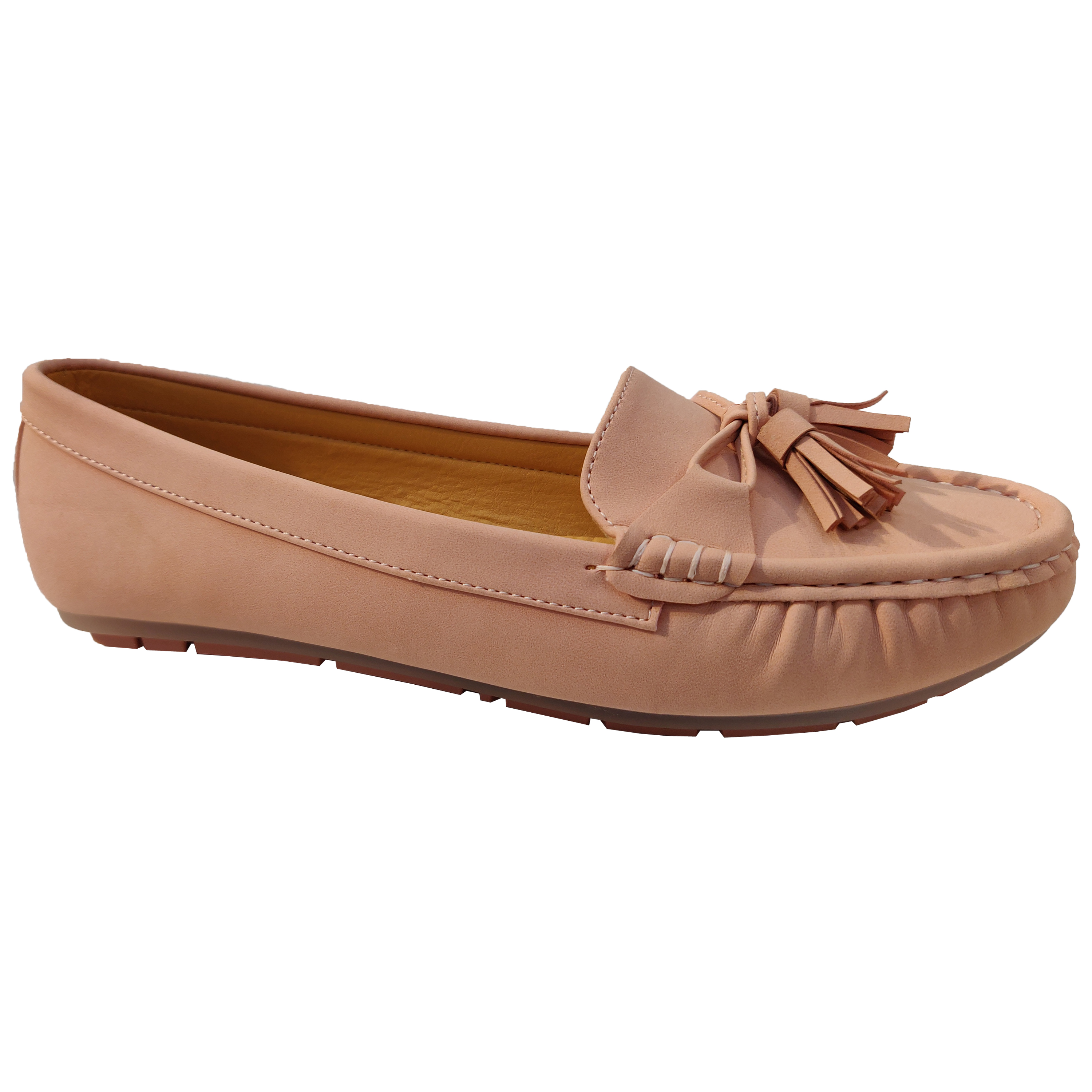 Ladies-Slip-On-Ballerina-Womens-Suede-Look-Pumps-Flat-Bow-Tassels-Shoes-Fashion thumbnail 17