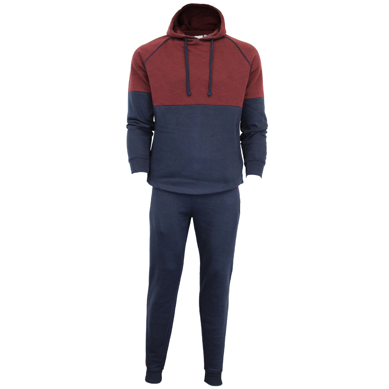 Mens-Tracksuit-Sweatshirt-Bottoms-Hooded-Fleece-Top-Joggers-Sports-Fashion-New thumbnail 10