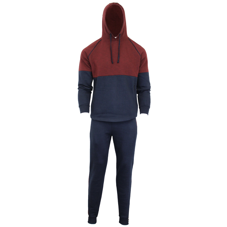 Mens-Tracksuit-Sweatshirt-Bottoms-Hooded-Fleece-Top-Joggers-Sports-Fashion-New thumbnail 11