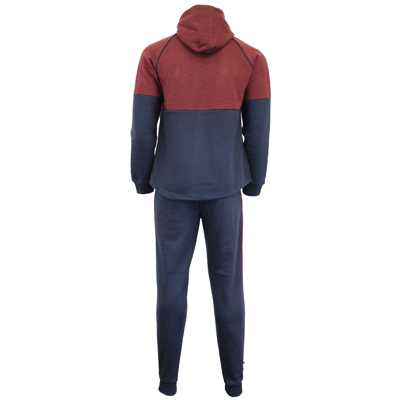 Mens-Tracksuit-Sweatshirt-Bottoms-Hooded-Fleece-Top-Joggers-Sports-Fashion-New thumbnail 12
