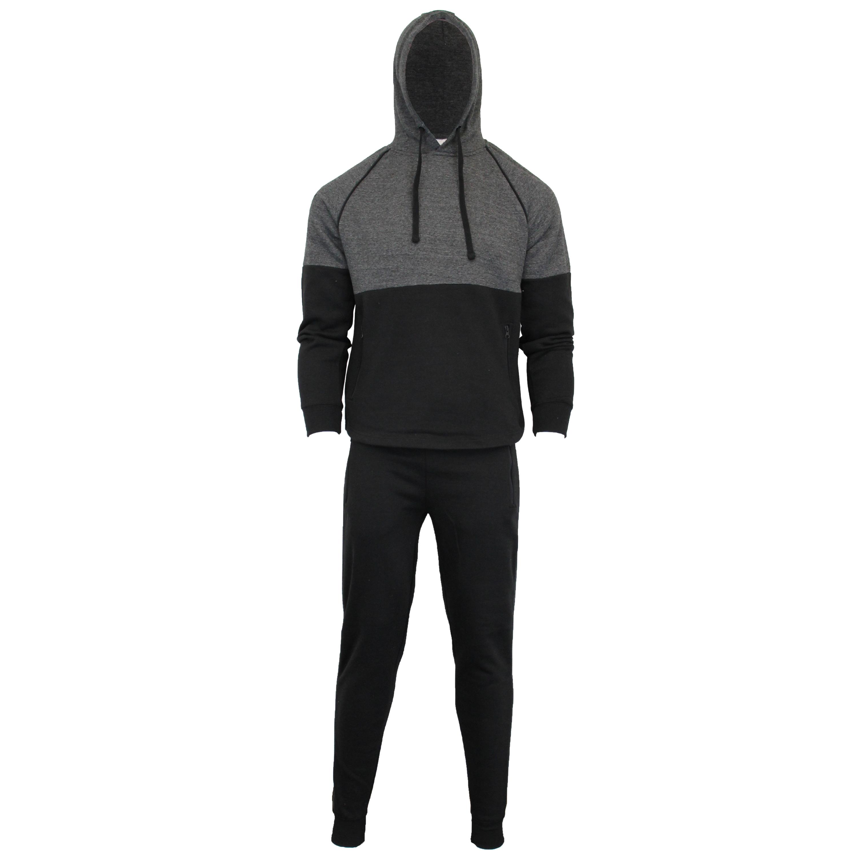 Mens-Tracksuit-Sweatshirt-Bottoms-Hooded-Fleece-Top-Joggers-Sports-Fashion-New thumbnail 3