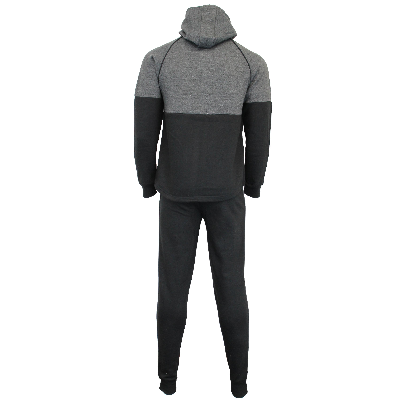 Mens-Tracksuit-Sweatshirt-Bottoms-Hooded-Fleece-Top-Joggers-Sports-Fashion-New thumbnail 4