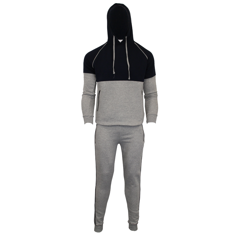 Mens-Tracksuit-Sweatshirt-Bottoms-Hooded-Fleece-Top-Joggers-Sports-Fashion-New thumbnail 7