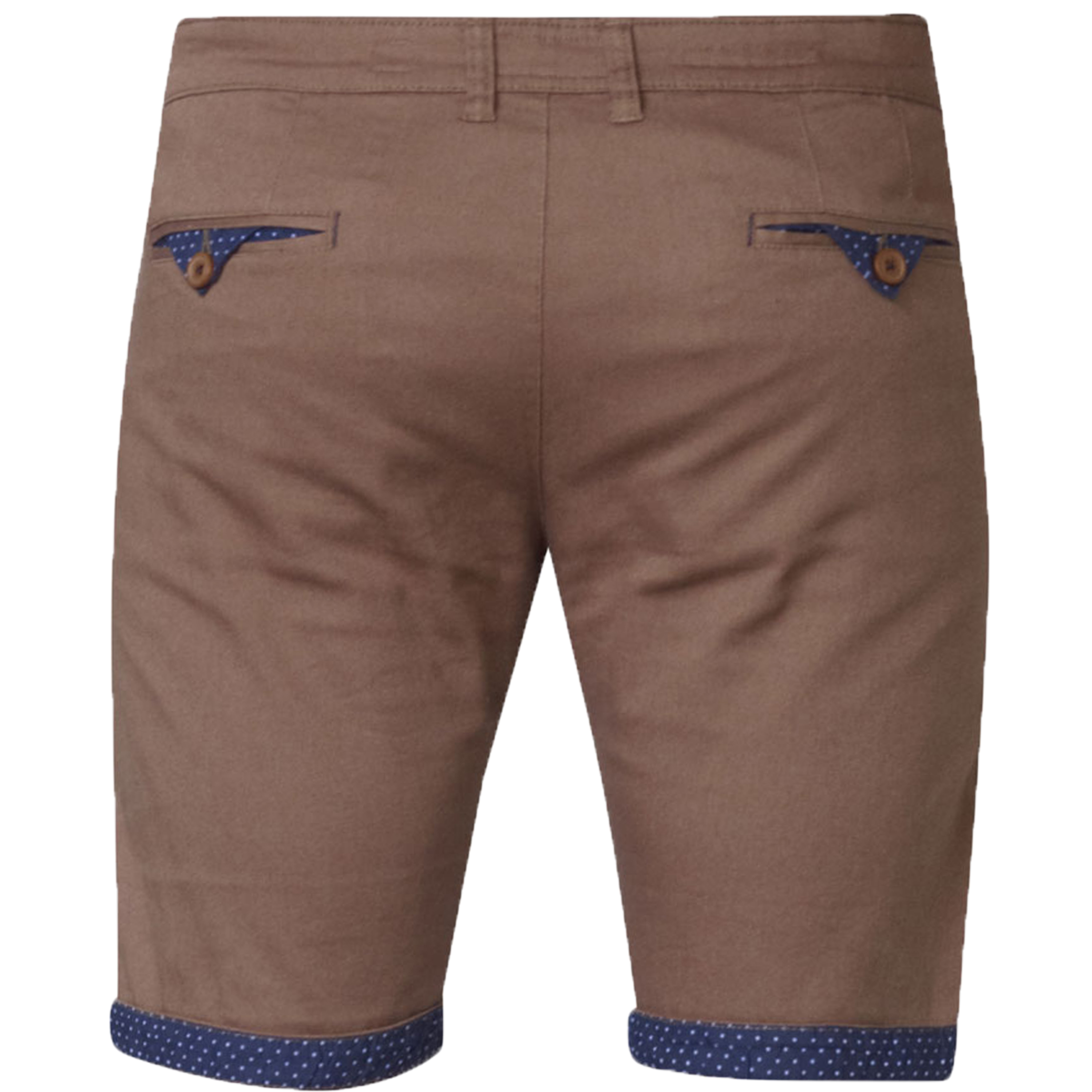 Mens-Chino-Shorts-D555-Duke-Big-King-Size-Roll-Up-Knee-Length-Polka-Pattern-New thumbnail 6