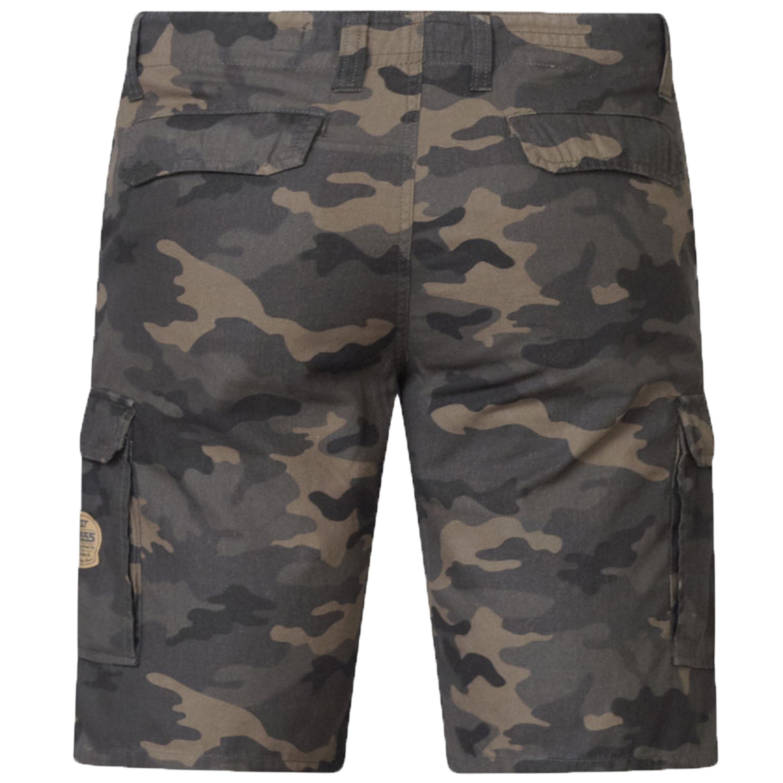 Mens Camo Cargo Shorts D555 Duke King Size Marty Military Army Knee Length New