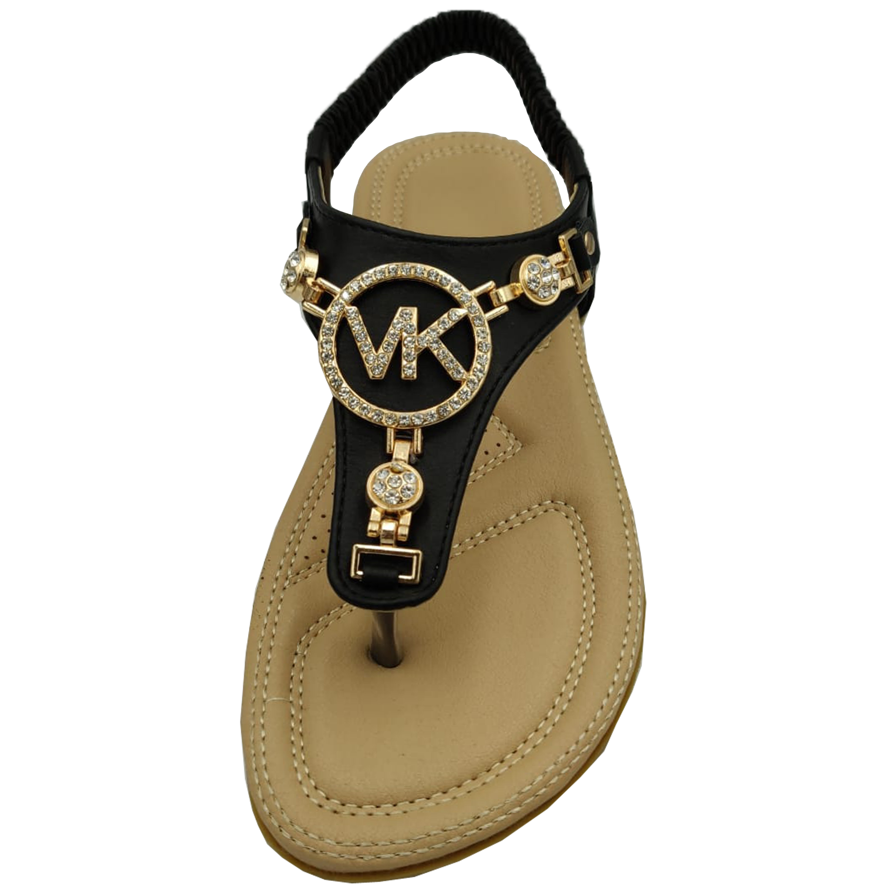 Ladies-Flat-Sandals-Womens-Diamante-Sling-Back-Toe-Post-Shoes-Summer-Fashion-New thumbnail 3