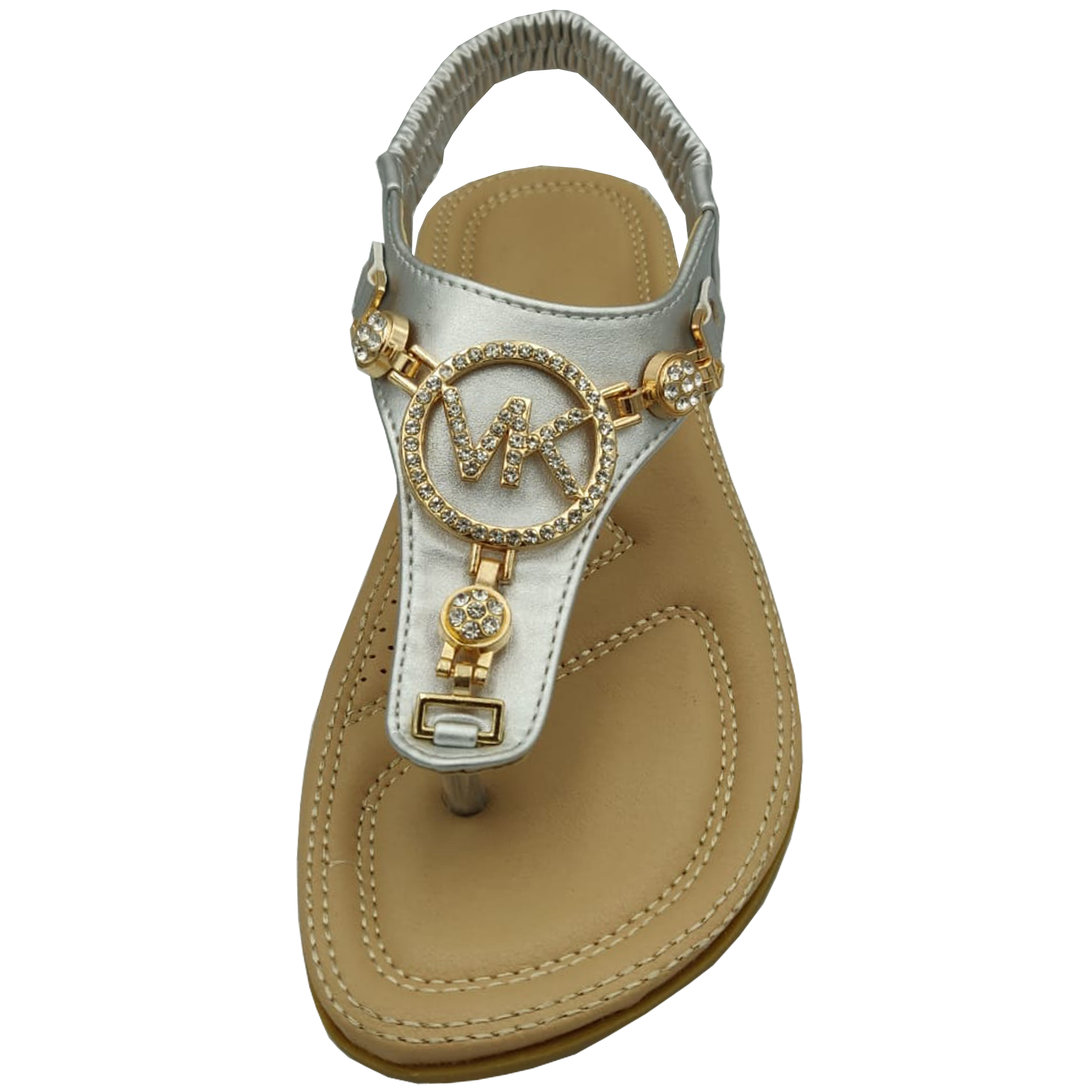 Ladies-Flat-Sandals-Womens-Diamante-Sling-Back-Toe-Post-Shoes-Summer-Fashion-New thumbnail 7