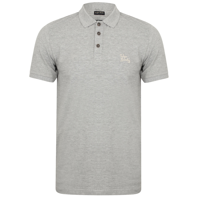 Mens-Pique-Polo-T-Shirt-Tokyo-Laundry-Kuusamo-Short-Sleeved-Top-Casual-Summer thumbnail 8