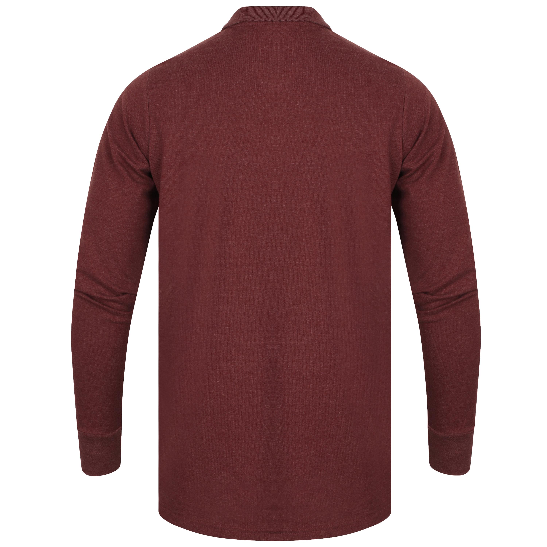 POLO-a-maniche-lunghe-da-uomo-T-shirt-Tokyo-Laundry-COSENZA-Jersey-Polo-In-Golf-Top-Nuovo miniatura 12