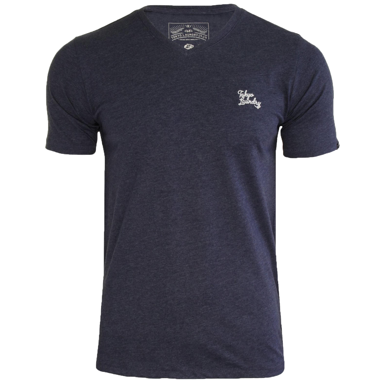 Mens-Tokyo-Laundry-3-Pack-Plain-Combed-Cotton-T-Shirt-Top-Plain-Mix-Colours-New thumbnail 13
