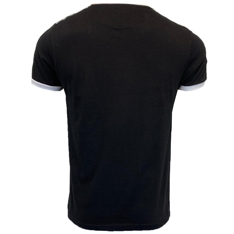 Mens-T-Shirt-Brave-Soul-Short-Sleeved-Broken-Standard-Crew-Neck-Plain-Summer-New thumbnail 3
