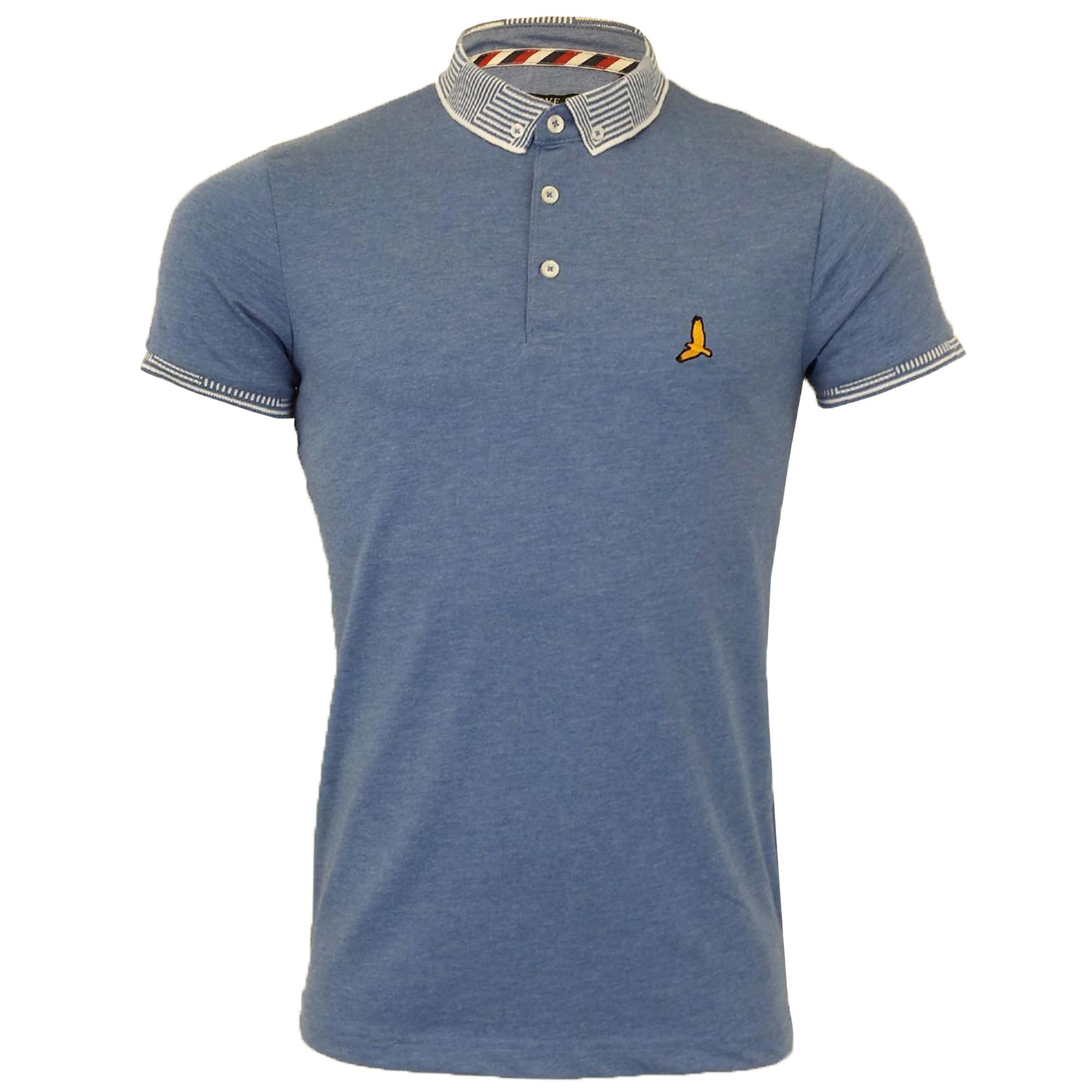 Mens-Polo-T-Shirt-Brave-Soul-Short-Sleeved-Cotton-GLOVER-Collared-KHALIFA-Summer thumbnail 14