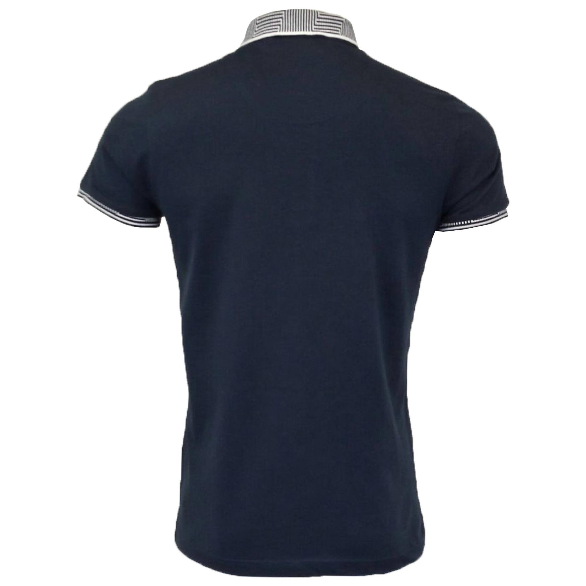 Mens-Polo-T-Shirt-Brave-Soul-Short-Sleeved-Cotton-GLOVER-Collared-KHALIFA-Summer thumbnail 3