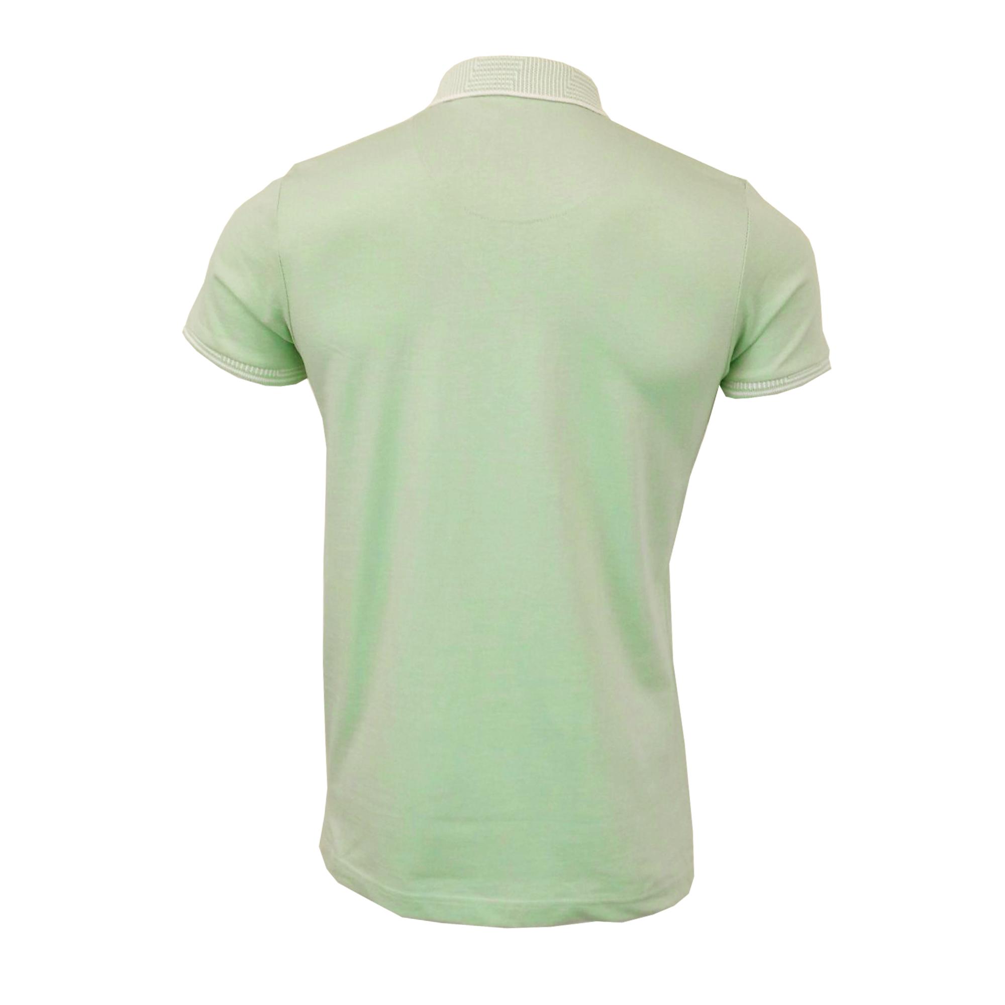 Mens-Polo-T-Shirt-Brave-Soul-Short-Sleeved-Cotton-GLOVER-Collared-KHALIFA-Summer thumbnail 9