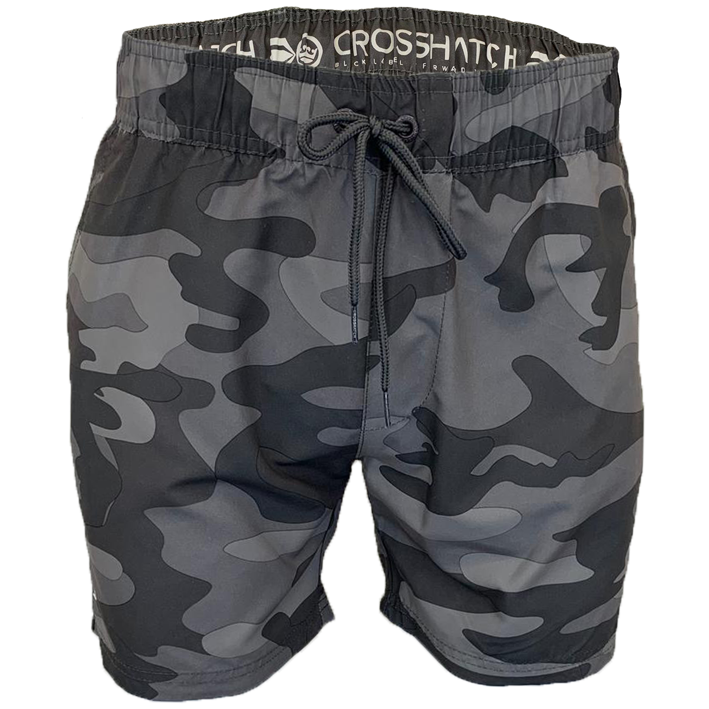 Mens-Camouflage-Swim-Shorts-Crosshatch-Army-Military-Knee-Length-Casual-Summer thumbnail 5
