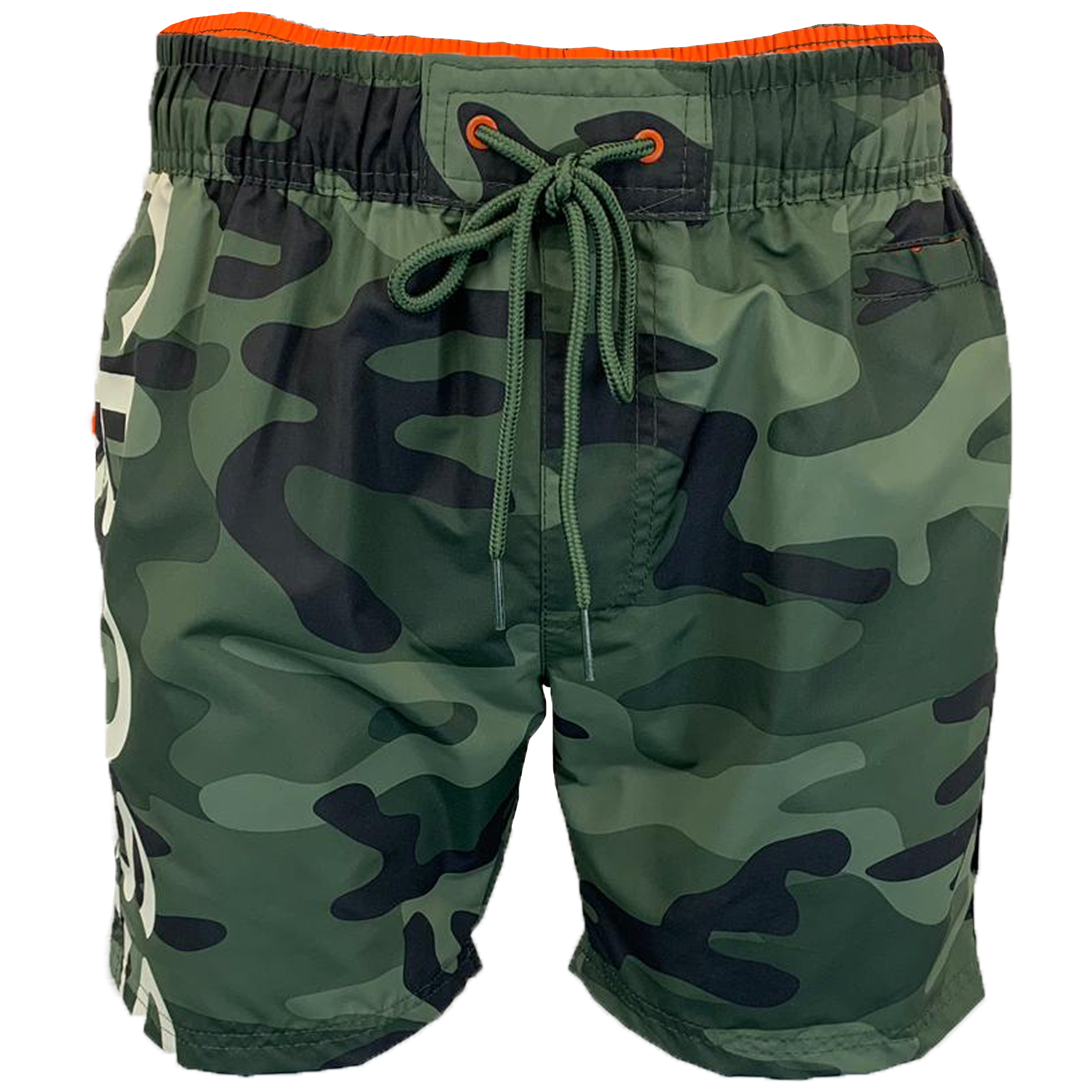 Mens-Camouflage-Swim-Shorts-Crosshatch-Army-Military-Knee-Length-Casual-Summer thumbnail 23