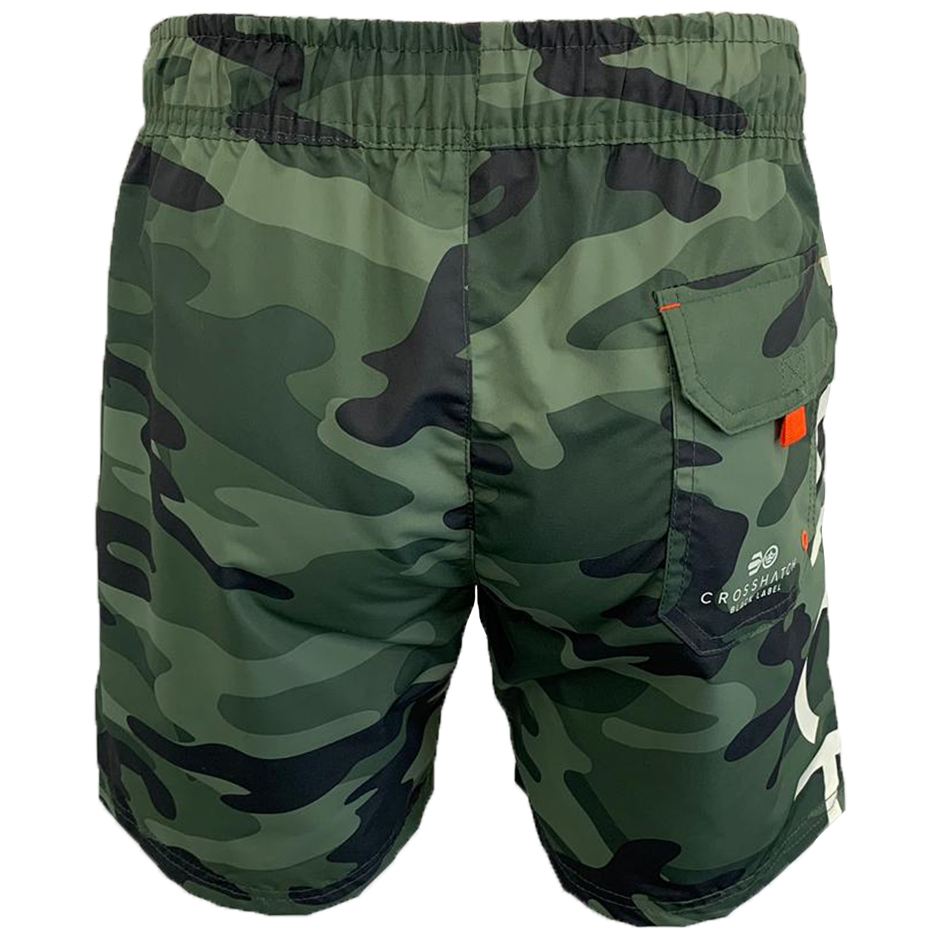 Mens-Camouflage-Swim-Shorts-Crosshatch-Army-Military-Knee-Length-Casual-Summer thumbnail 25