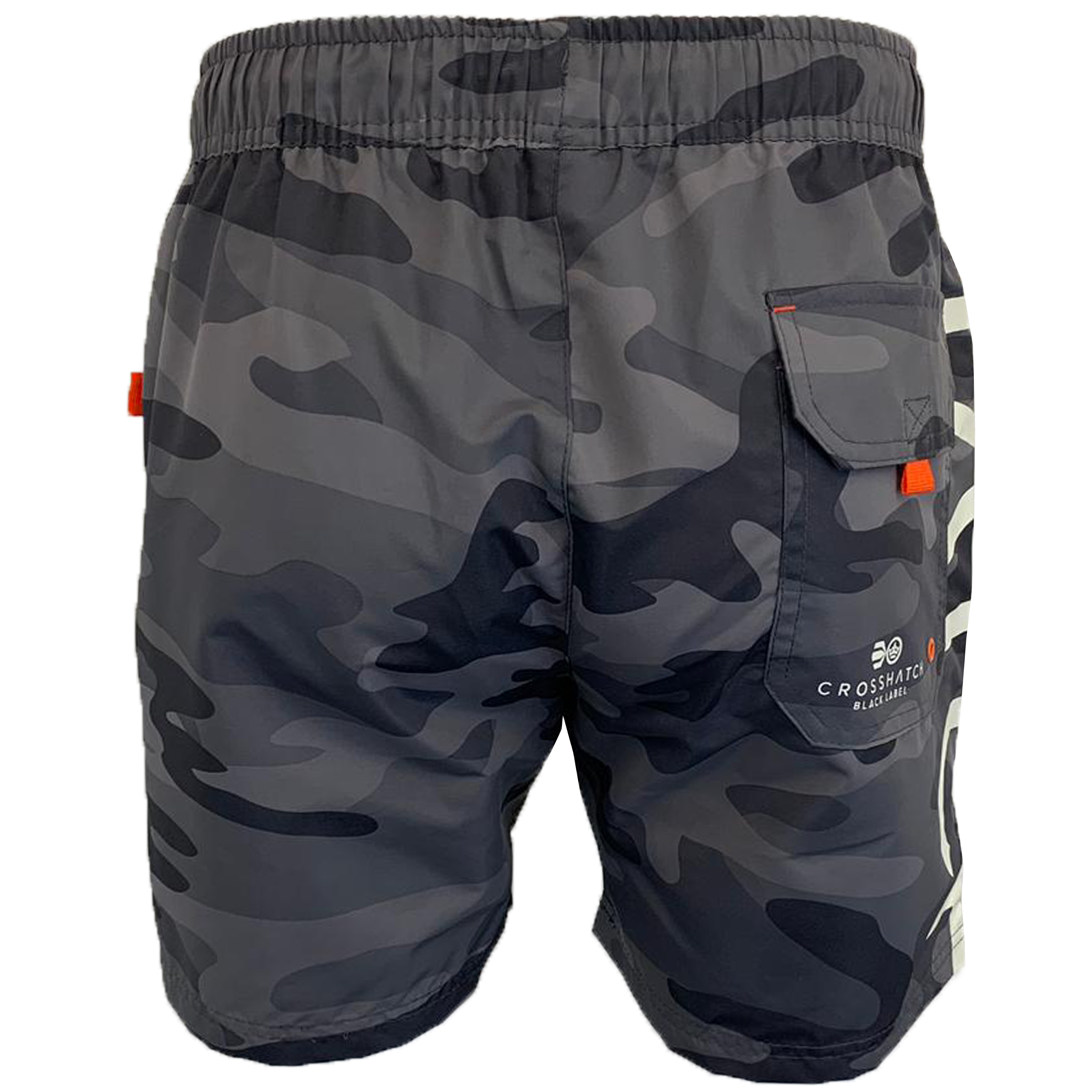 Mens-Camouflage-Swim-Shorts-Crosshatch-Army-Military-Knee-Length-Casual-Summer thumbnail 14