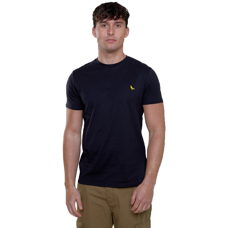 Mens-T-Shirt-Brave-Soul-Short-Sleeved-Broken-Standard-Crew-Neck-Plain-Summer-New thumbnail 5
