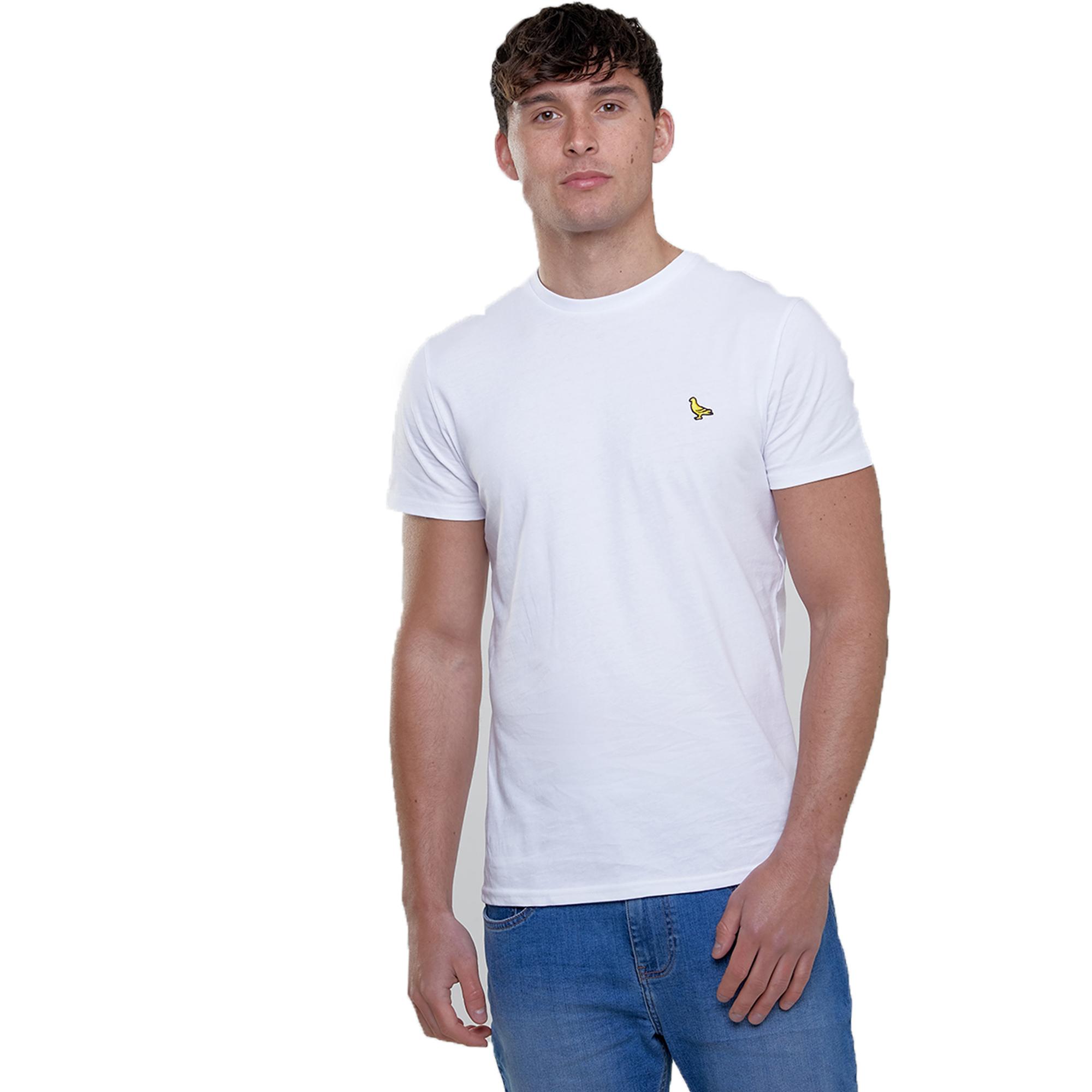 Mens-T-Shirt-Brave-Soul-Short-Sleeved-Broken-Standard-Crew-Neck-Plain-Summer-New thumbnail 32