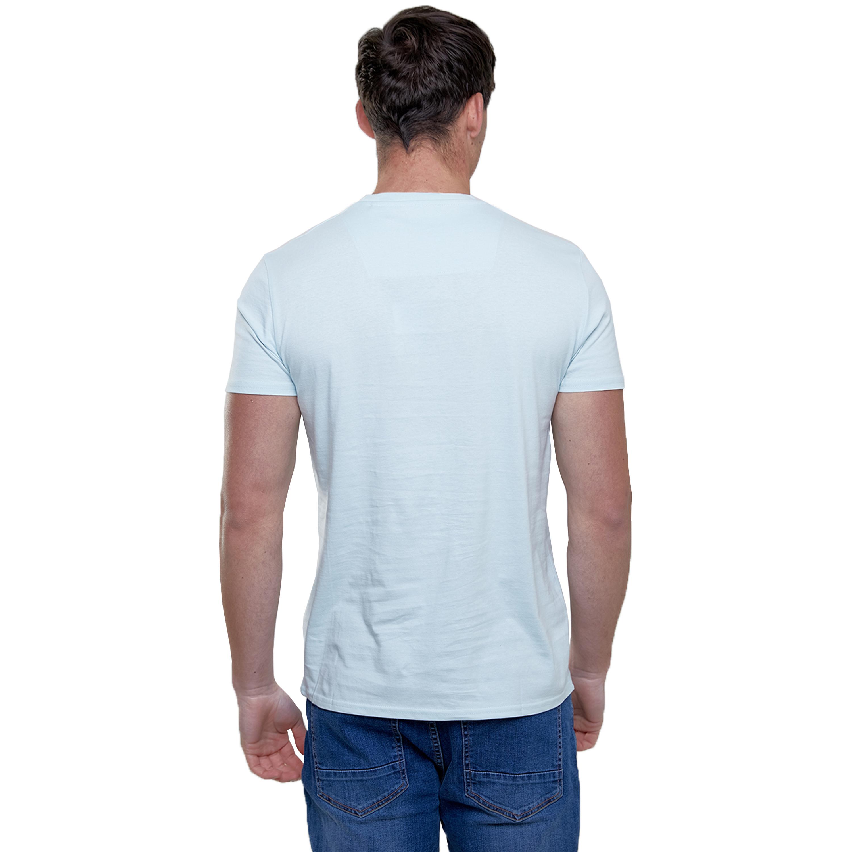Mens-T-Shirt-Brave-Soul-Short-Sleeved-Broken-Standard-Crew-Neck-Plain-Summer-New thumbnail 15