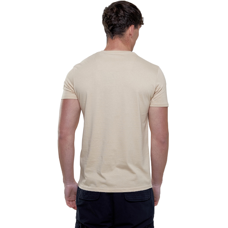 Mens-T-Shirt-Brave-Soul-Short-Sleeved-Broken-Standard-Crew-Neck-Plain-Summer-New thumbnail 24