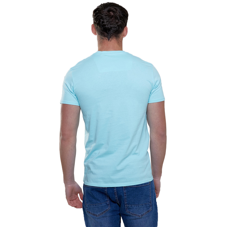 Mens-T-Shirt-Brave-Soul-Short-Sleeved-Broken-Standard-Crew-Neck-Plain-Summer-New thumbnail 27
