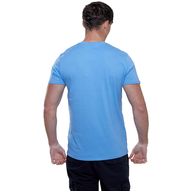 Mens-T-Shirt-Brave-Soul-Short-Sleeved-Broken-Standard-Crew-Neck-Plain-Summer-New thumbnail 9