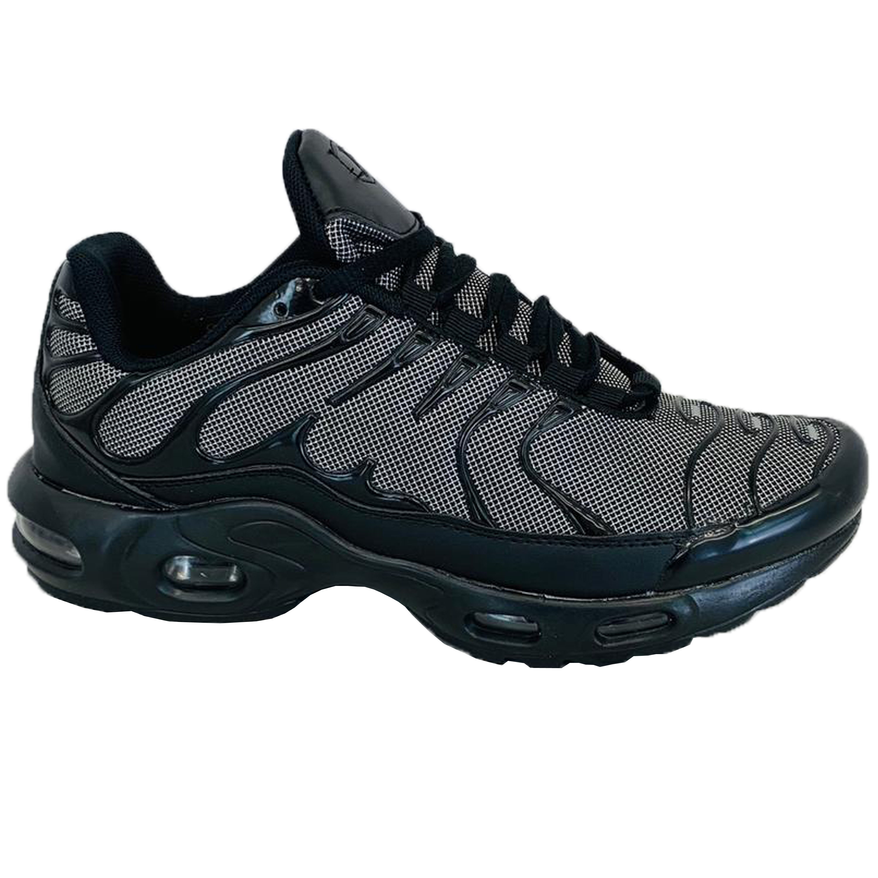 Mens-Bubble-Trainers-Lace-Up-Running-Shoes-Sneakers-Sports-Jogging-Fitness-Gym thumbnail 9